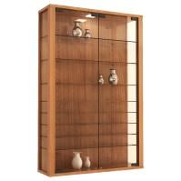 VCM Vitrosa Mini Wall Mounted Curio Cabinet & Reviews