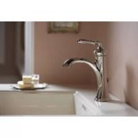 Kohler Devonshire Single Handle Bathroom Sink Faucet ...