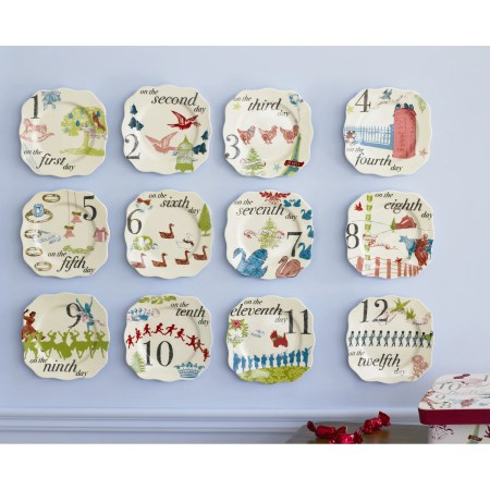 Outdoor Appetizer Plates