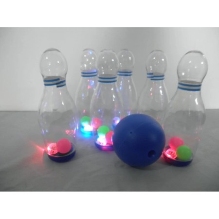 Outdoor Gnome Bowling Game