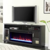 Greenway Muskoka TV Stand with Electric Fireplace ...