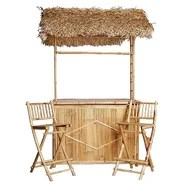 Capri 3 Piece Tiki Bar Set