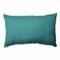 Cassie Aqua Lumbar Pillow | Wayfair