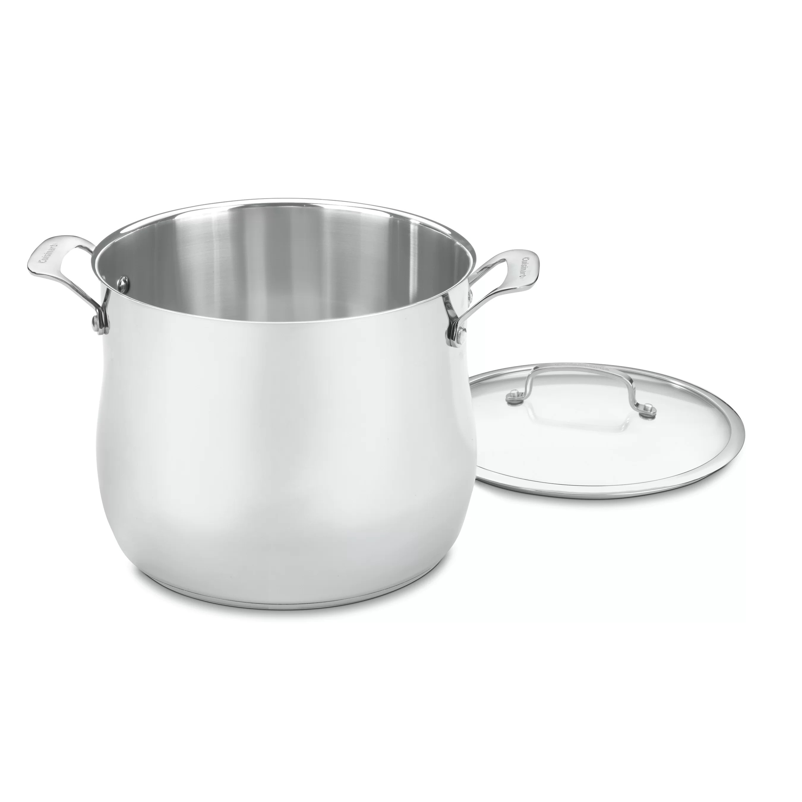Amazon Cuisinart Stock Pot Cuisinart Stock Pot With Lid And Reviews Wayfair
