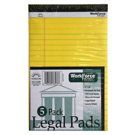 Design Legal Pads