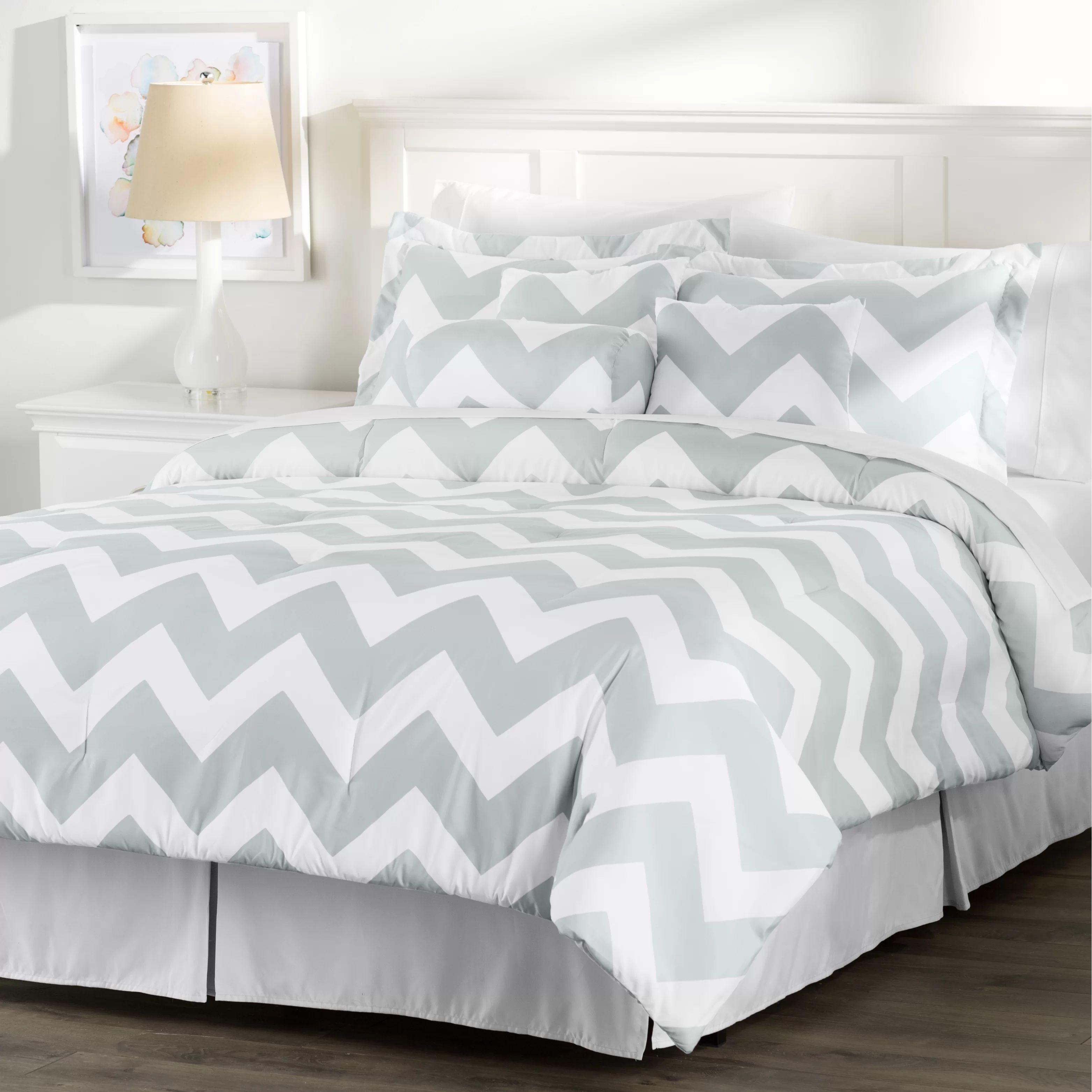 Wayfair basics wayfair basics 7 piece comforter set