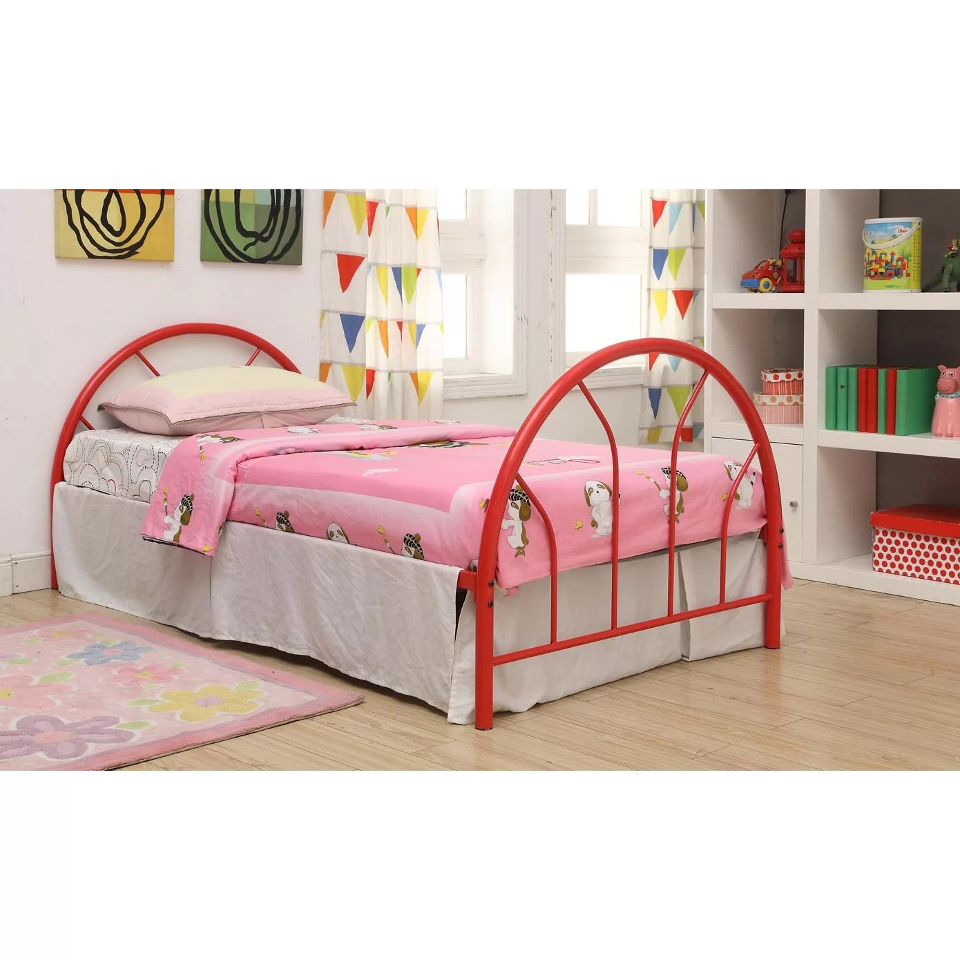 Viv Rae Makayla Twin Wrought Iron Bed Reviews Wayfair