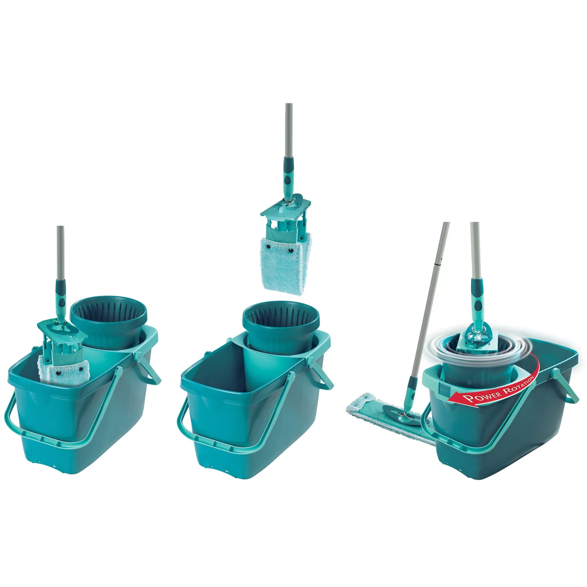 Leifheit Clean Twist Mop Leifheit Clean Twist Xl Rectangular Mop/sweeper Set With