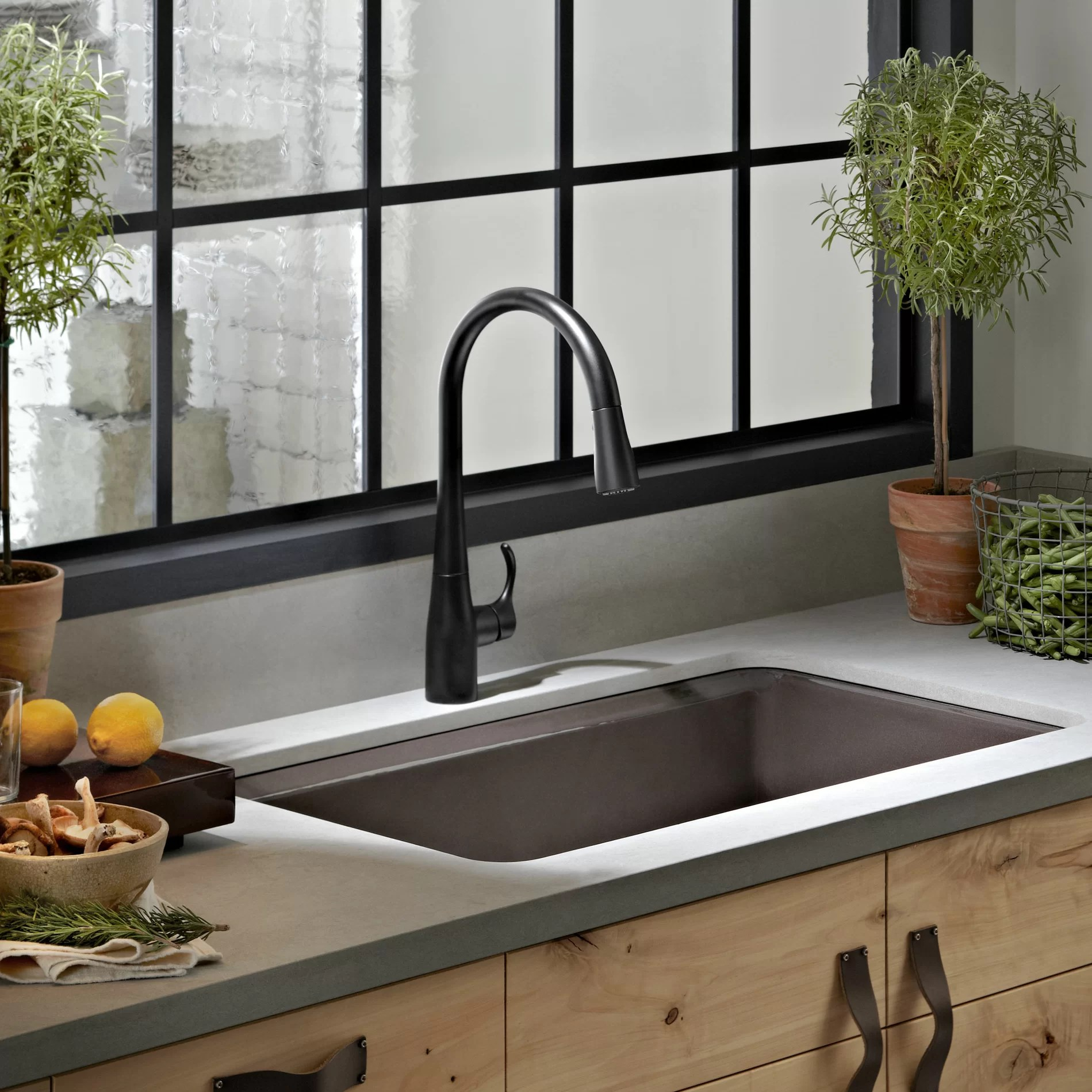 Blanco Farmhouse Sink Reviews Kohler Riverby 33 Quot X 22 Quot X 9 5 8 Quot Top Mount Single Bowl