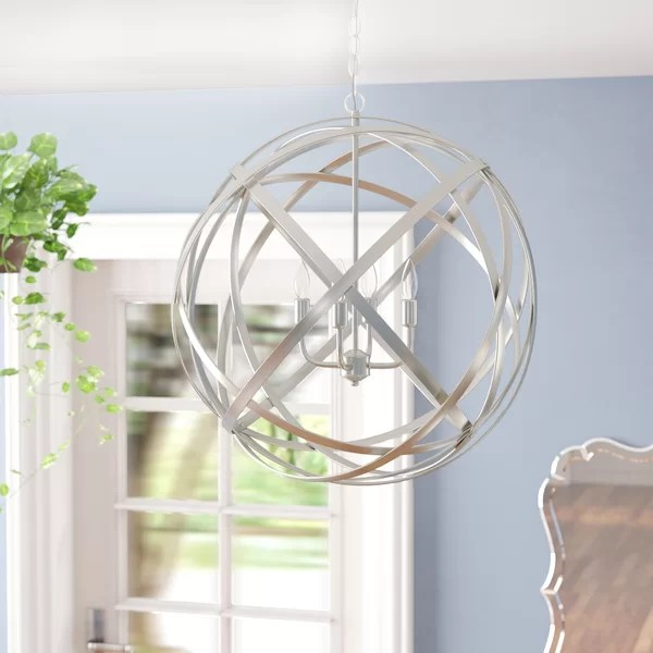 Wayfair Orb Lighting Laurel Foundry Modern Farmhouse Kierra 4-light Globe
