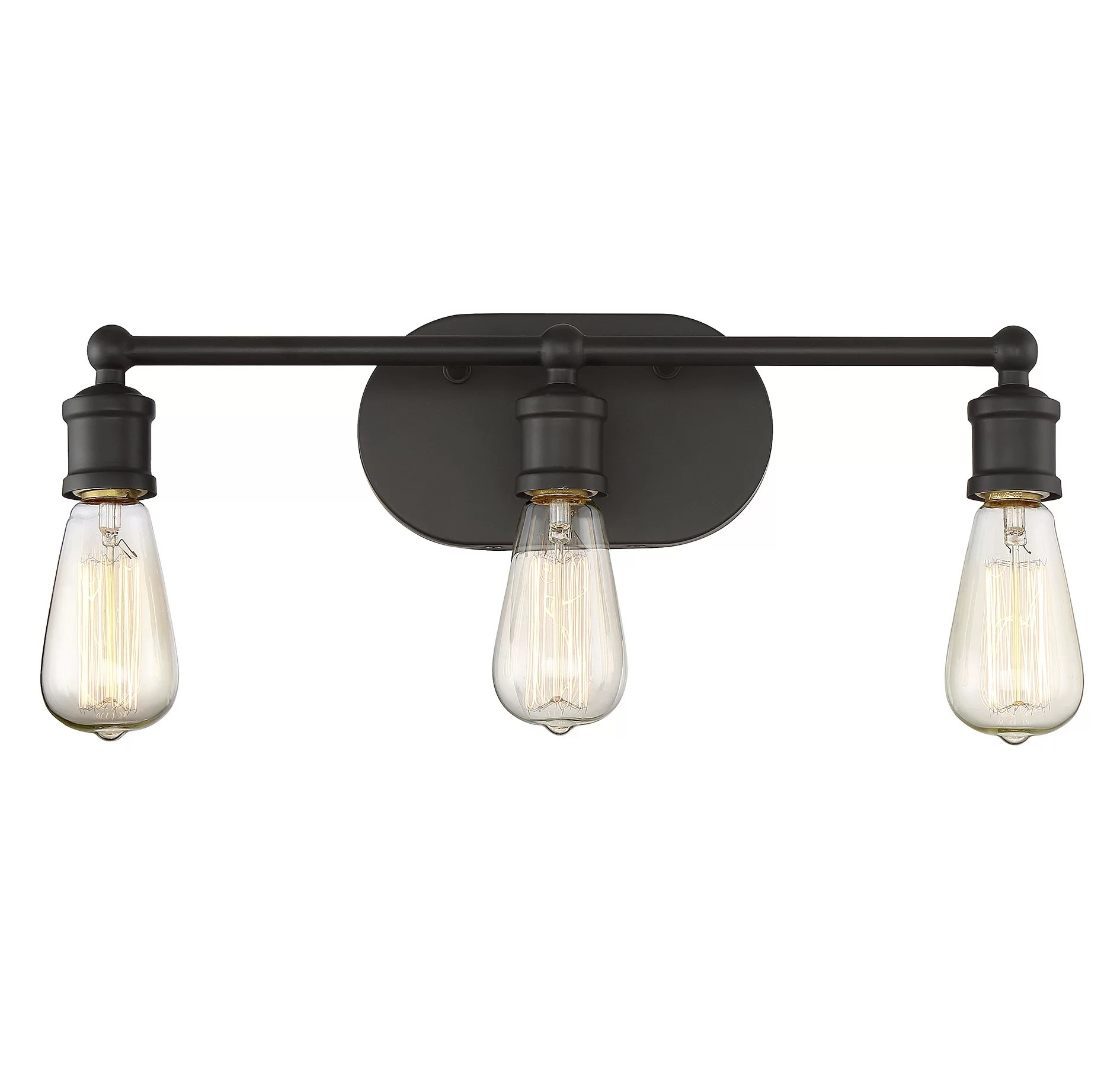 Modern Farmhouse Track Lighting Laurel Foundry Modern Farmhouse Agave 3 Light Vanity Light Fixture