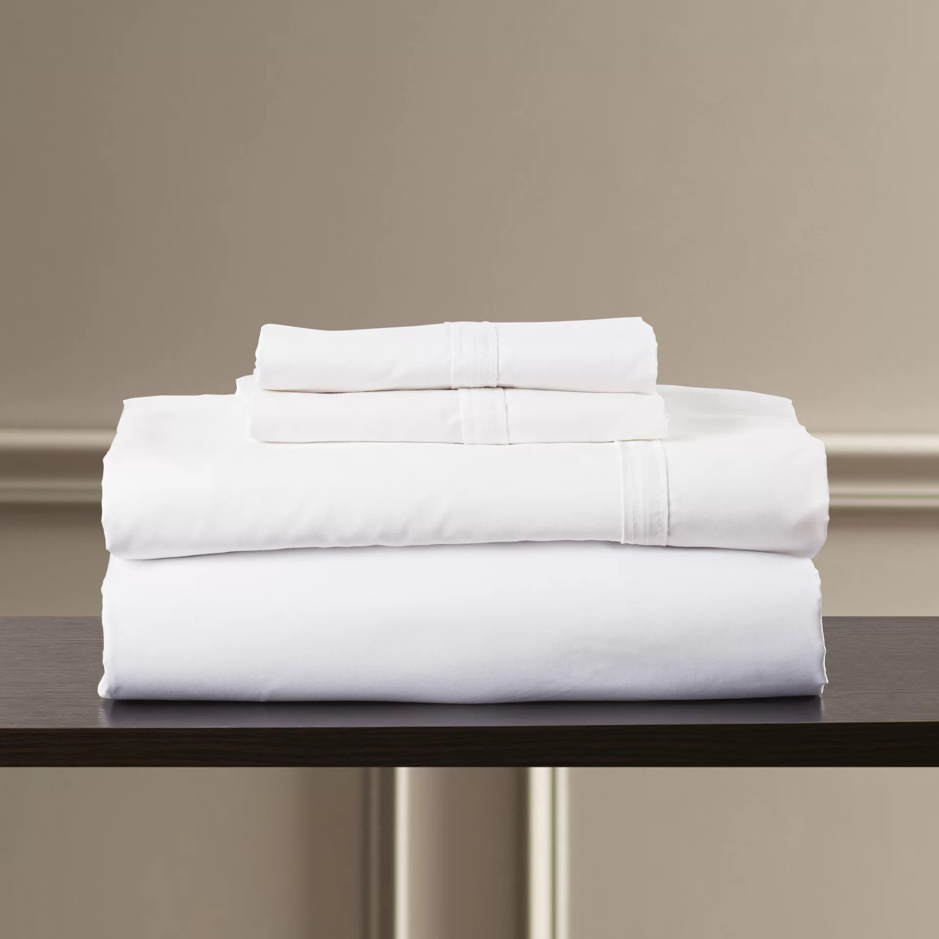 100 Egyptian Cotton Sheets Bridger 300 Thread Count 100 Egyptian Quality Cotton Sheet Set