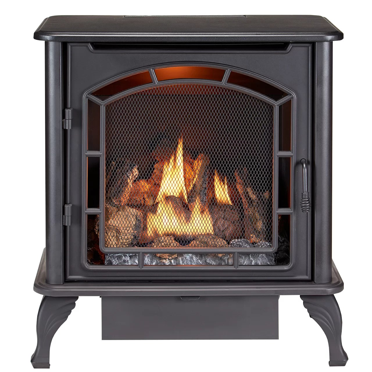 How Does A Vent Free Gas Fireplace Work Vent Free Natural Gas Propane Stove