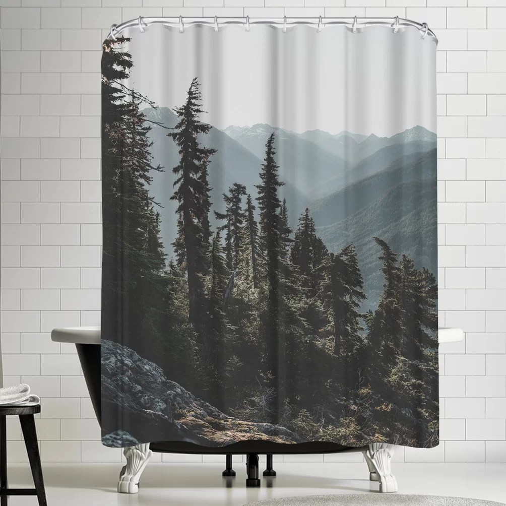 Usa Shower Curtain Luke Gram North Cascades National Forest Usa Shower Curtain
