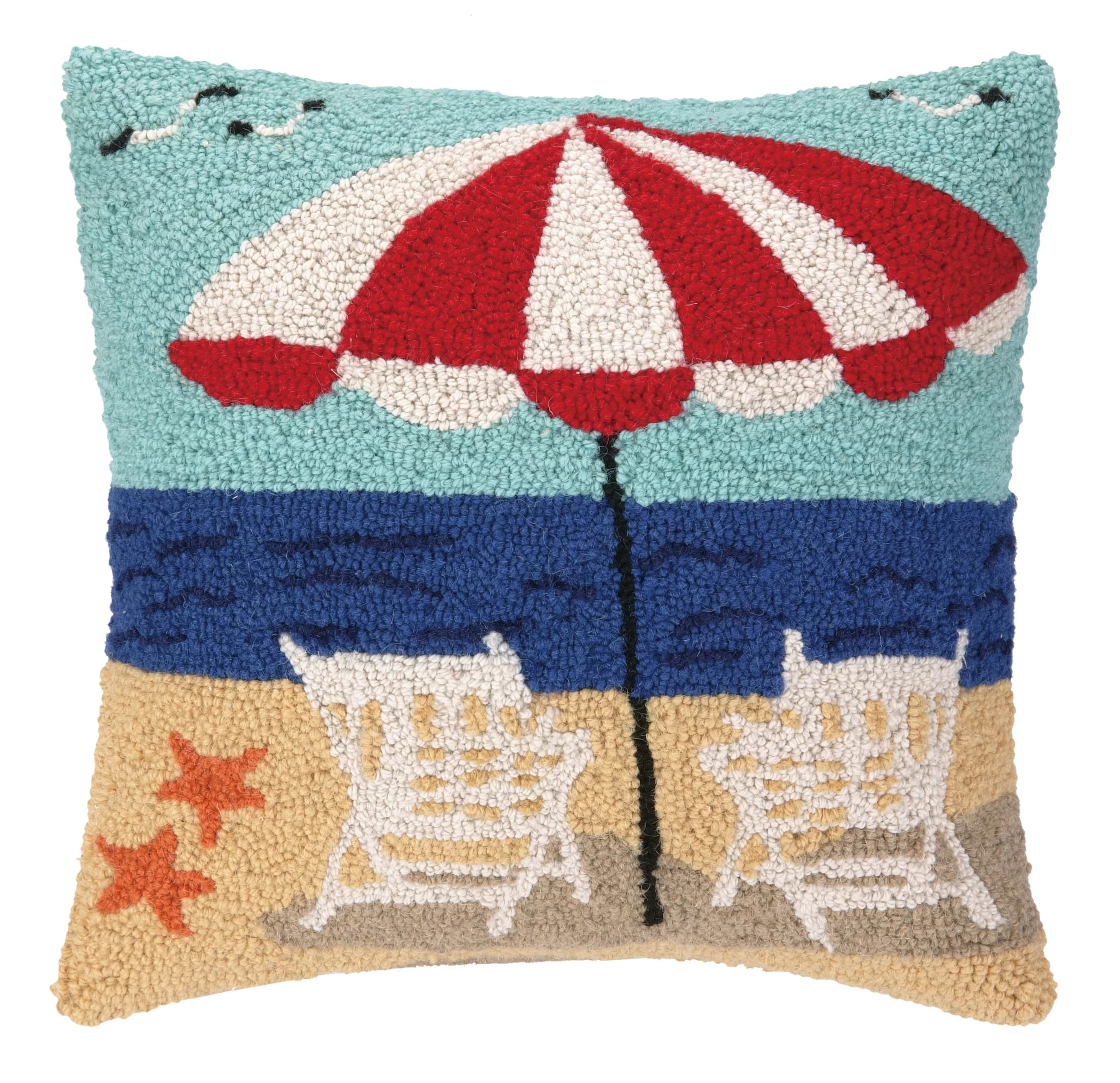 Nautical Sofa Throws Nautical Hook Beach Getaway Throw Pillow