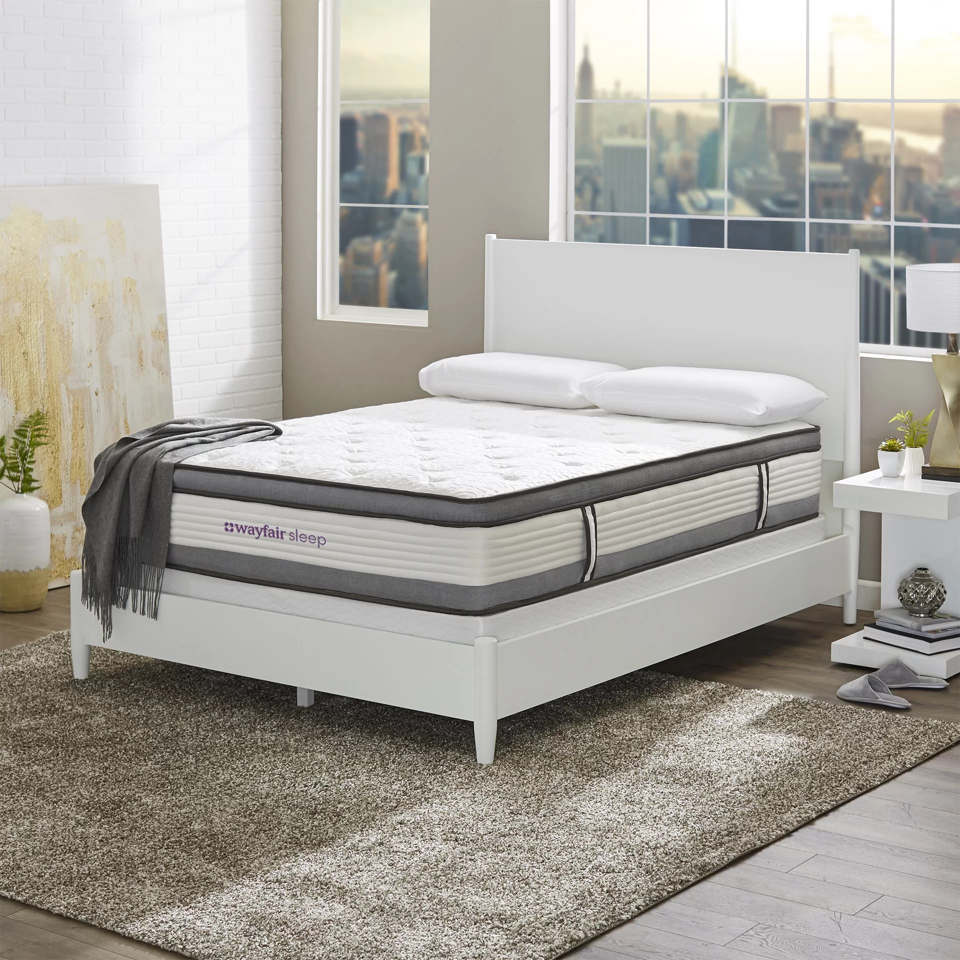 Bedroom Mattress Wayfair Sleep 12