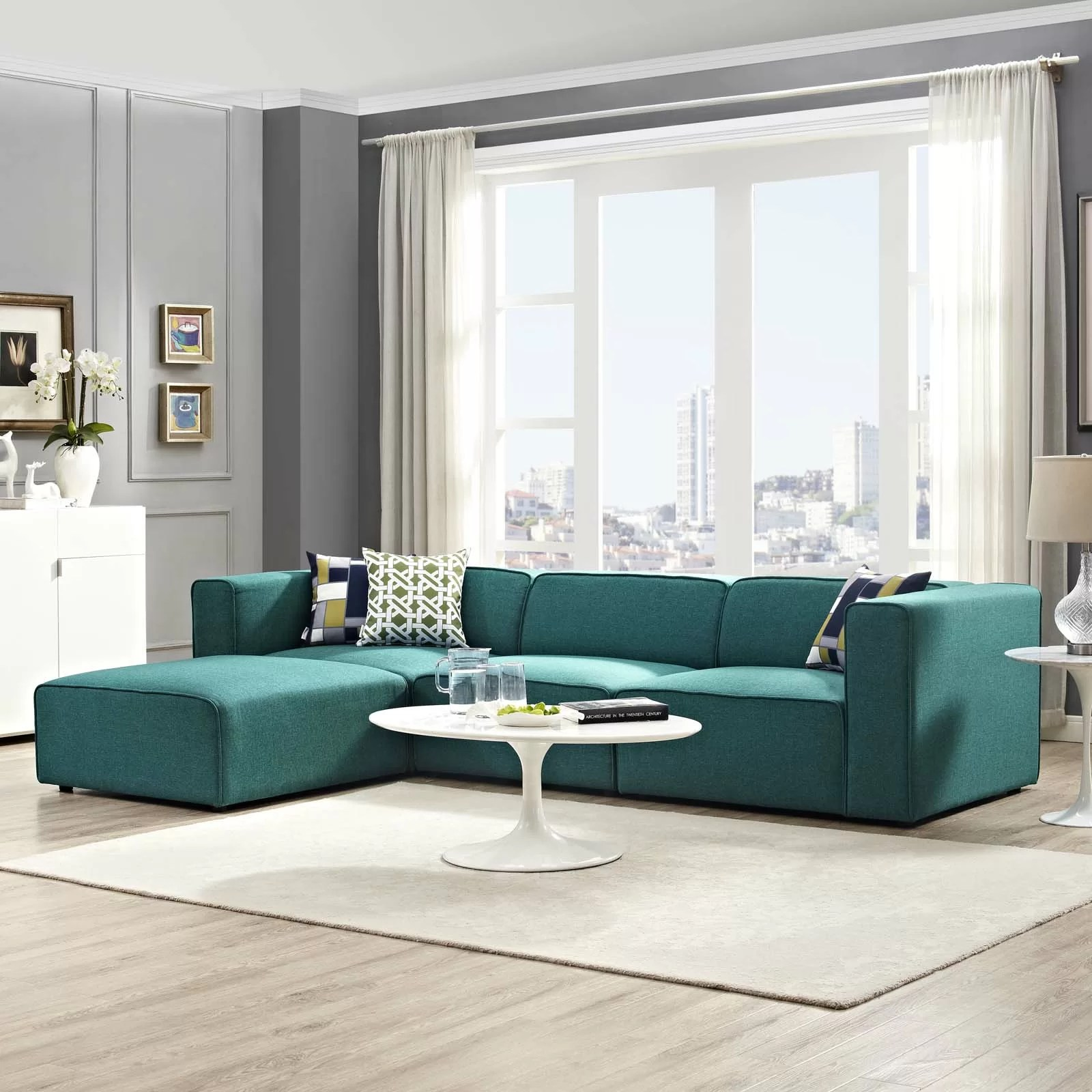 New Style Sofa Set Design Modern Contemporary Living Room Furniture Allmodern
