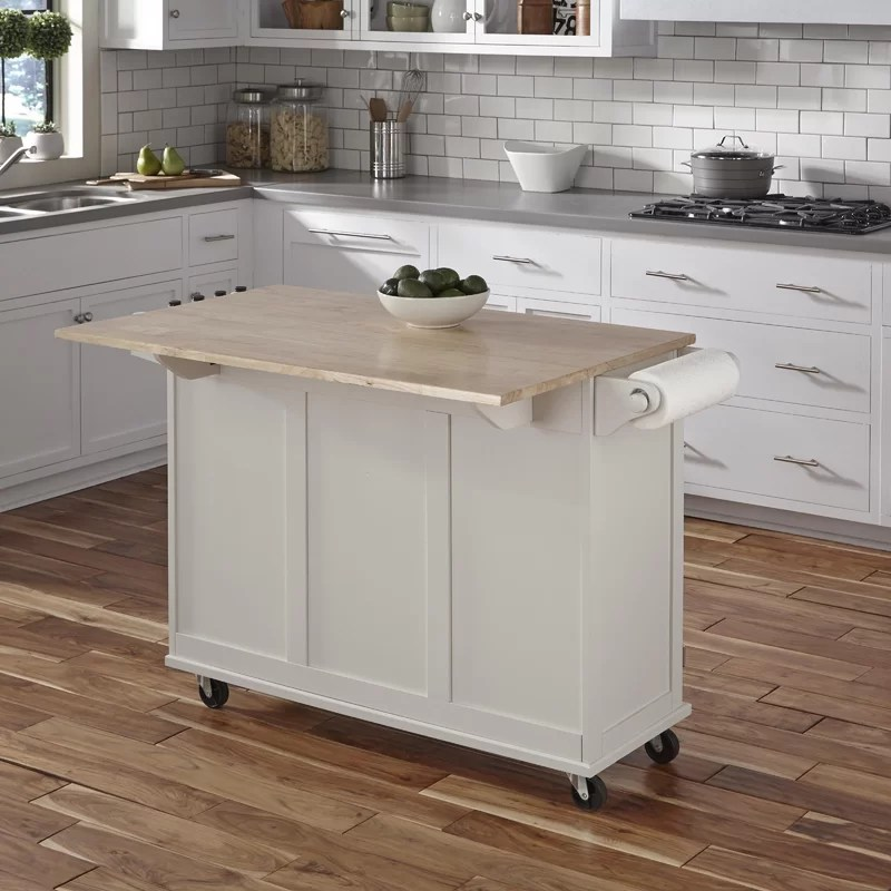 Kuhnhenn Kitchen Island Andover Mills Kuhnhenn Kitchen Island & Reviews | Wayfair