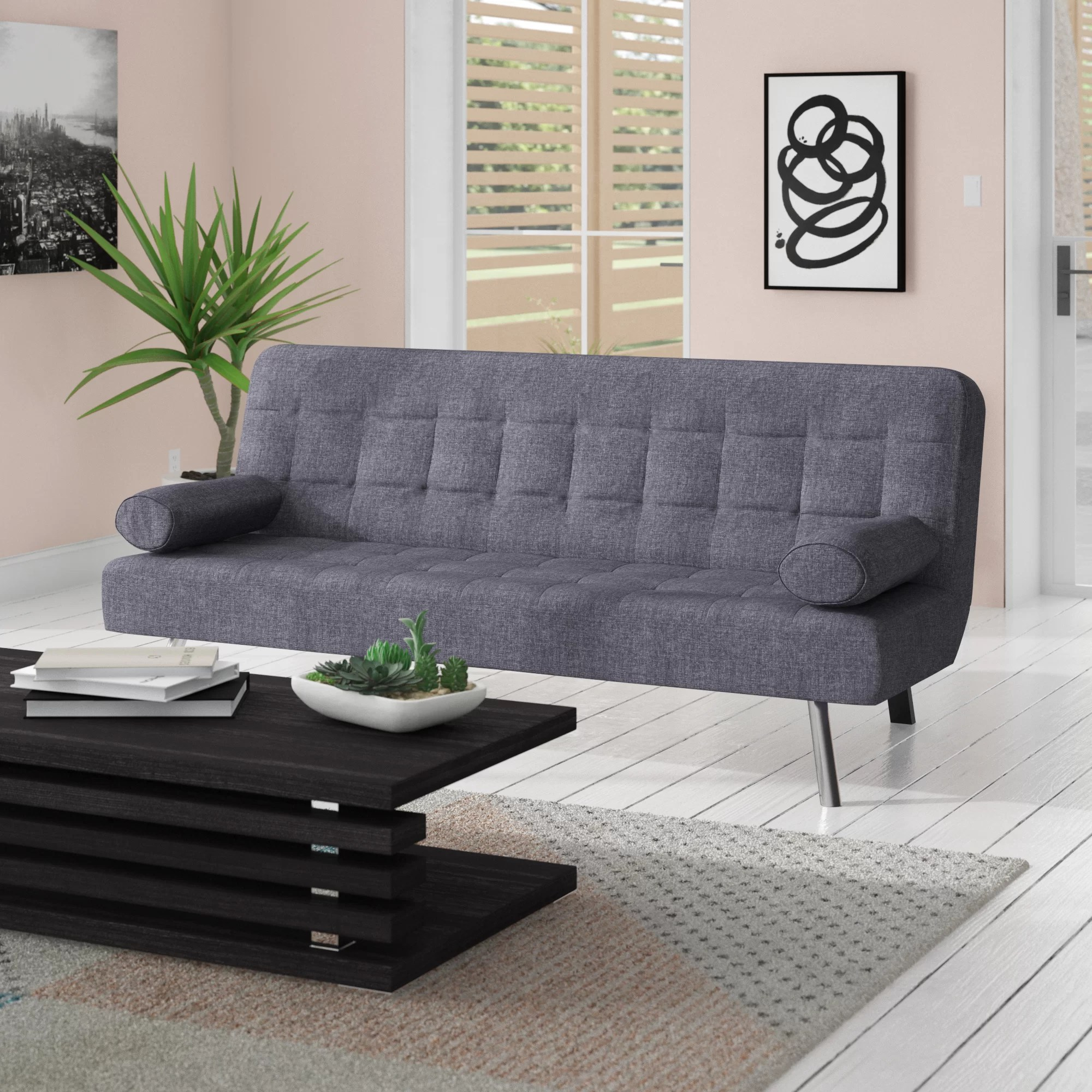 Table Clic Clac Ratliff 2 Seater Clic Clac Sofa Bed