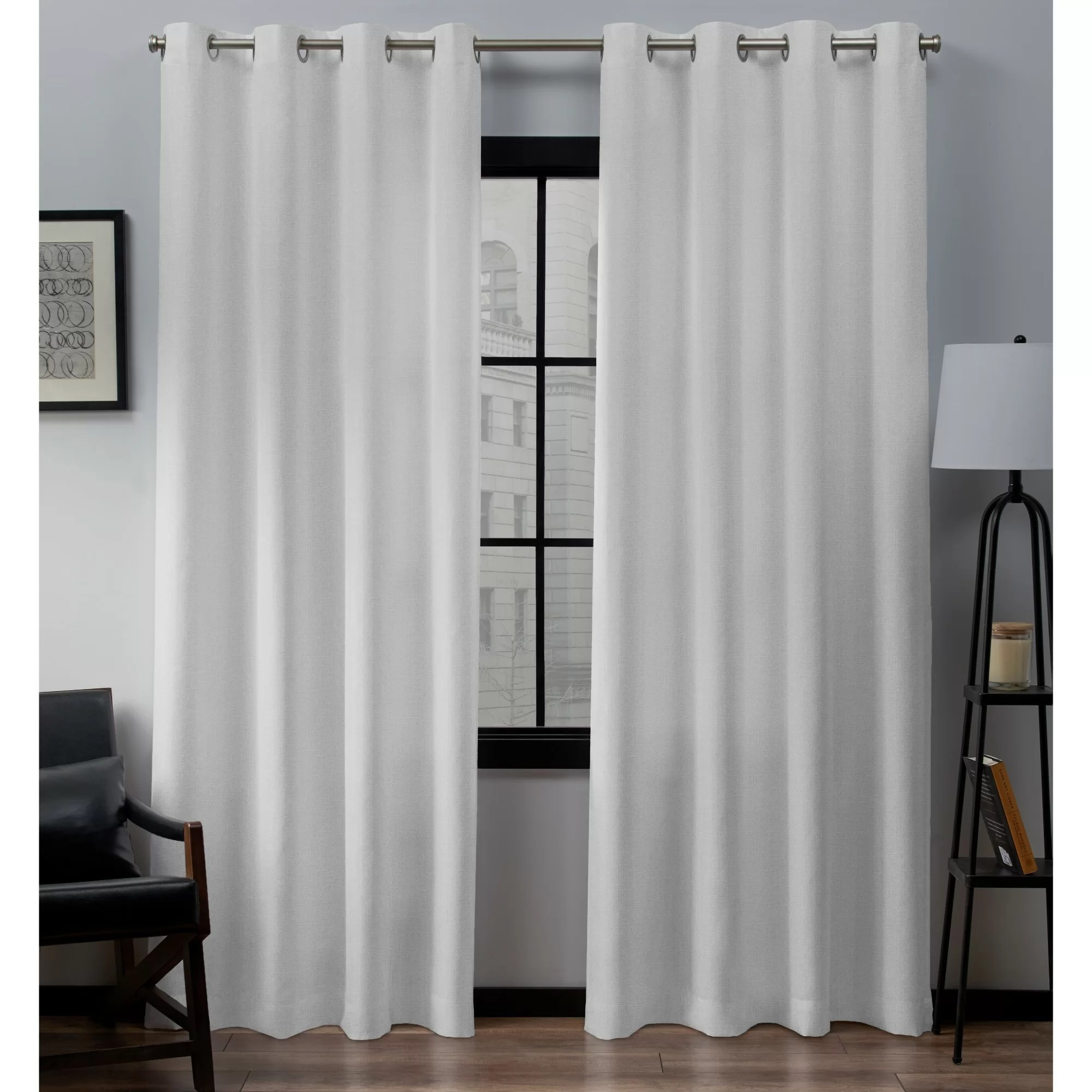 Curtain Cleaning Sydney Heil Linen Solid Grommet Curtain Panels