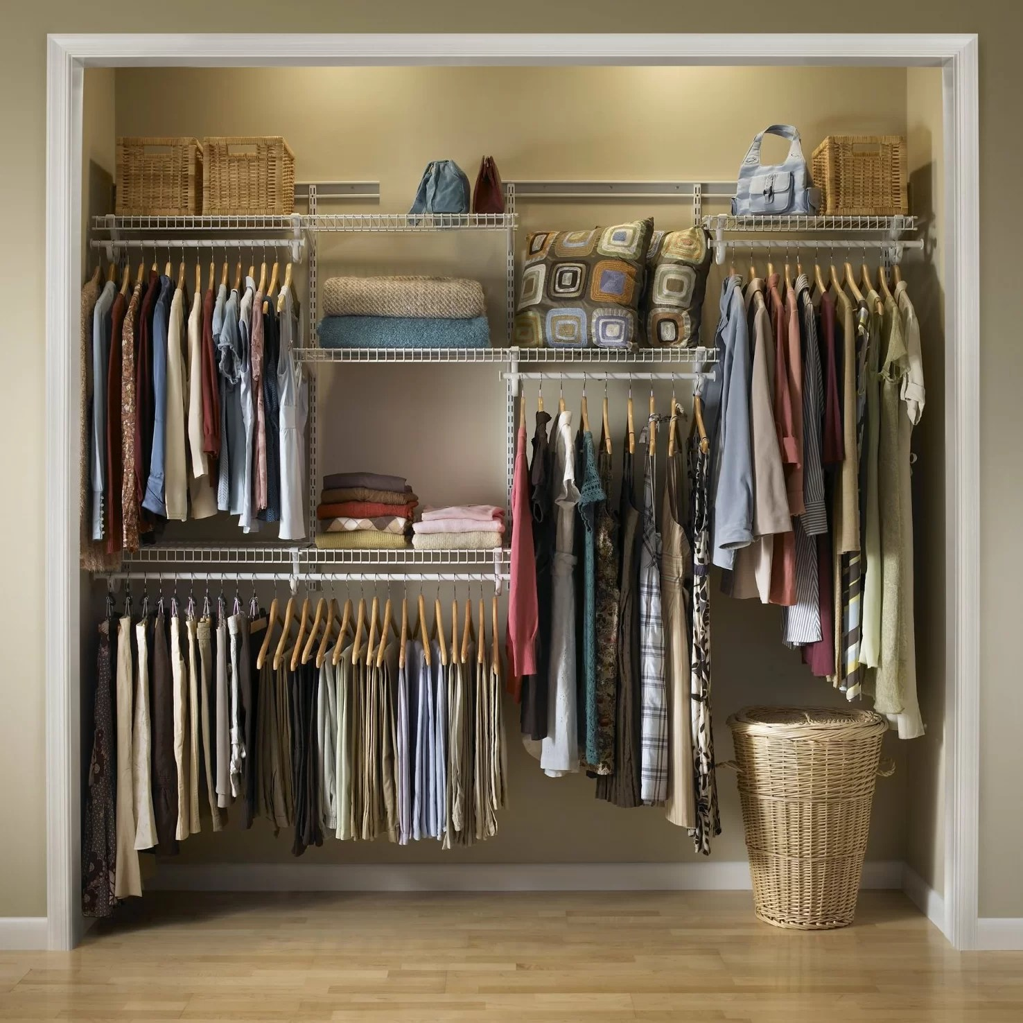 Clothes Storage Closetmaid Clothes Storage System