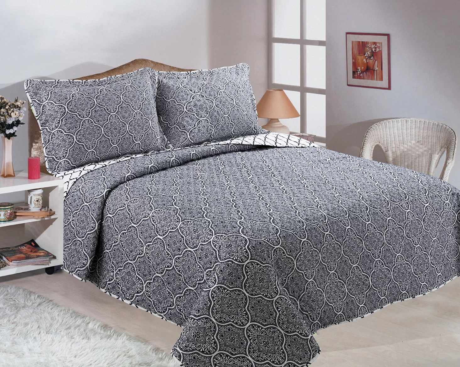 Quilt Sets Cardoza Reversible Quilt Set