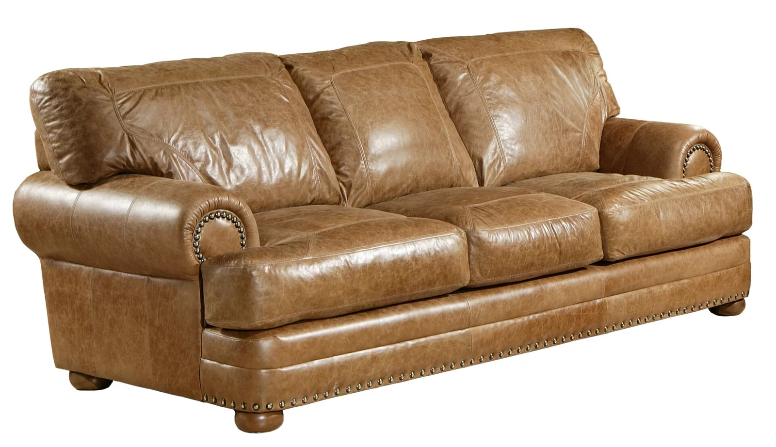 Leather Sectional Vancouver Omnia Leather Wayfair