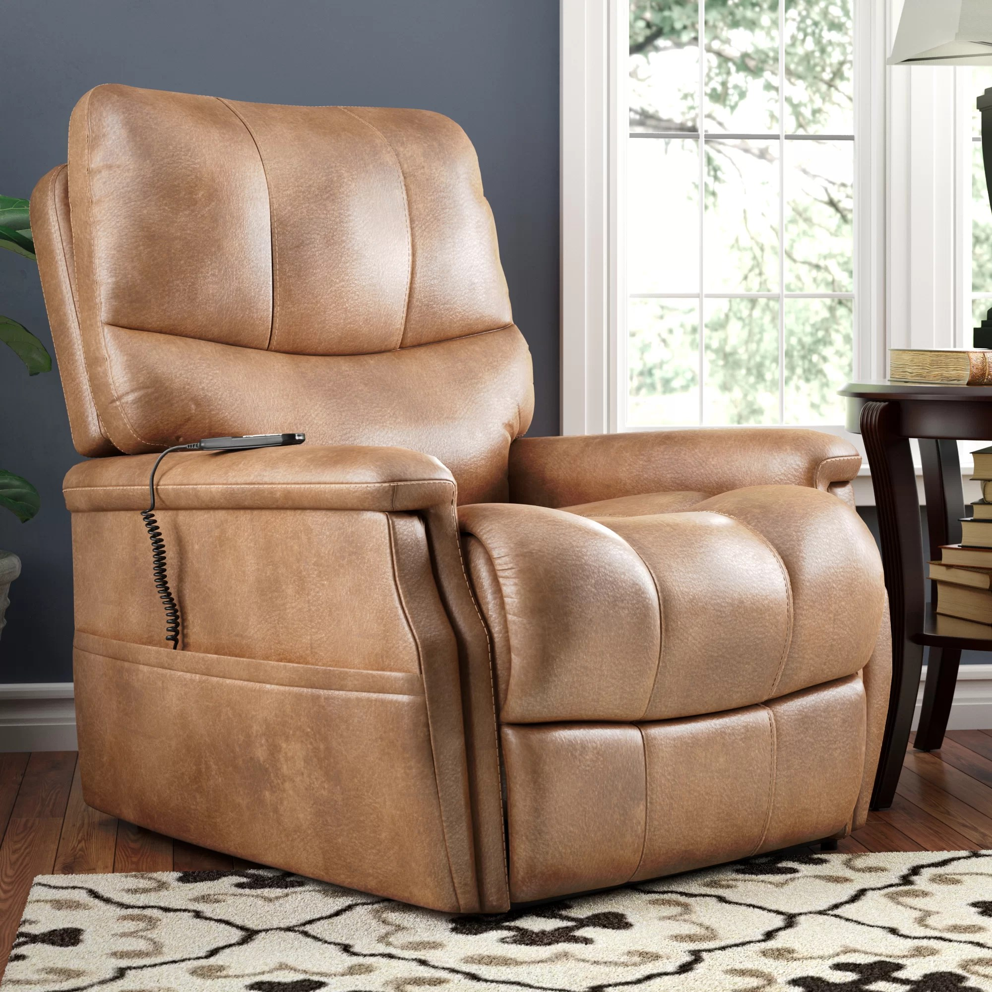 Lift Armchair Flanigan Power Lift Assist Recliner