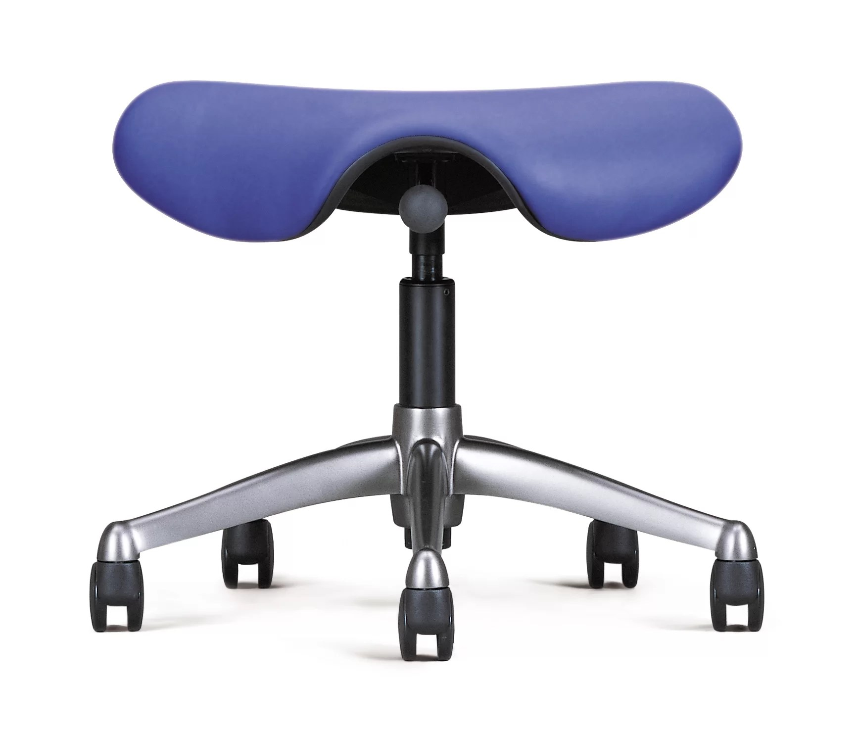Saddle Office Chair Height Adjustable Saddle Seat With Casters