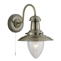 Searchlight Fisherman 1-Light Armed Sconce & Reviews ...