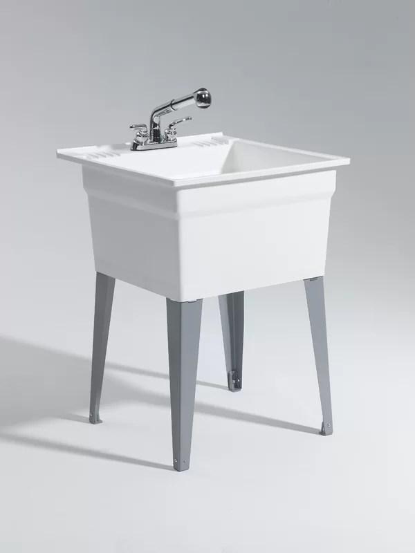 Cashel Heavy Duty 2275quot X 2525quot Freestanding Laundry
