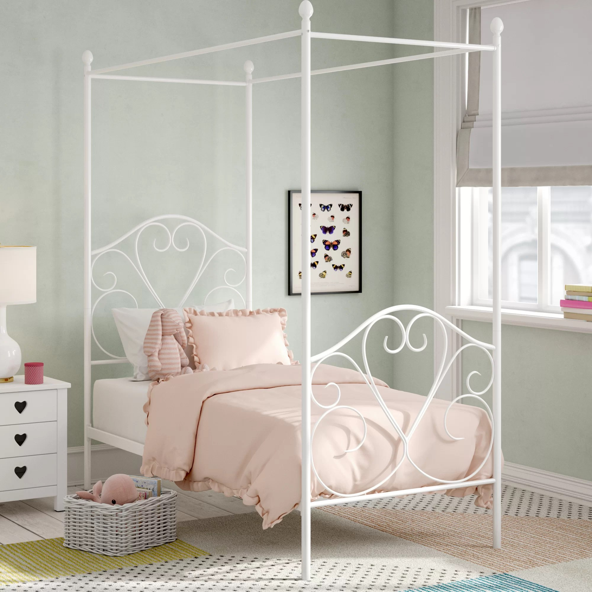 Single Four Poster Bed Abbotts Single Four Poster Bed