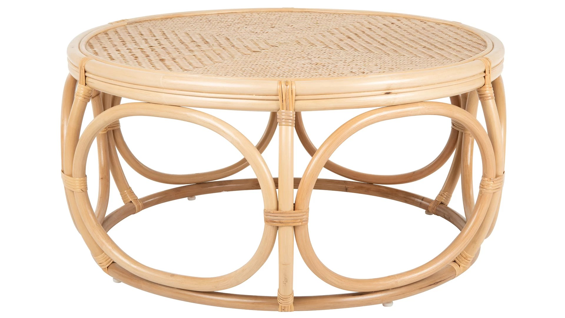 Rattan Table Melton Rattan Coffee Table