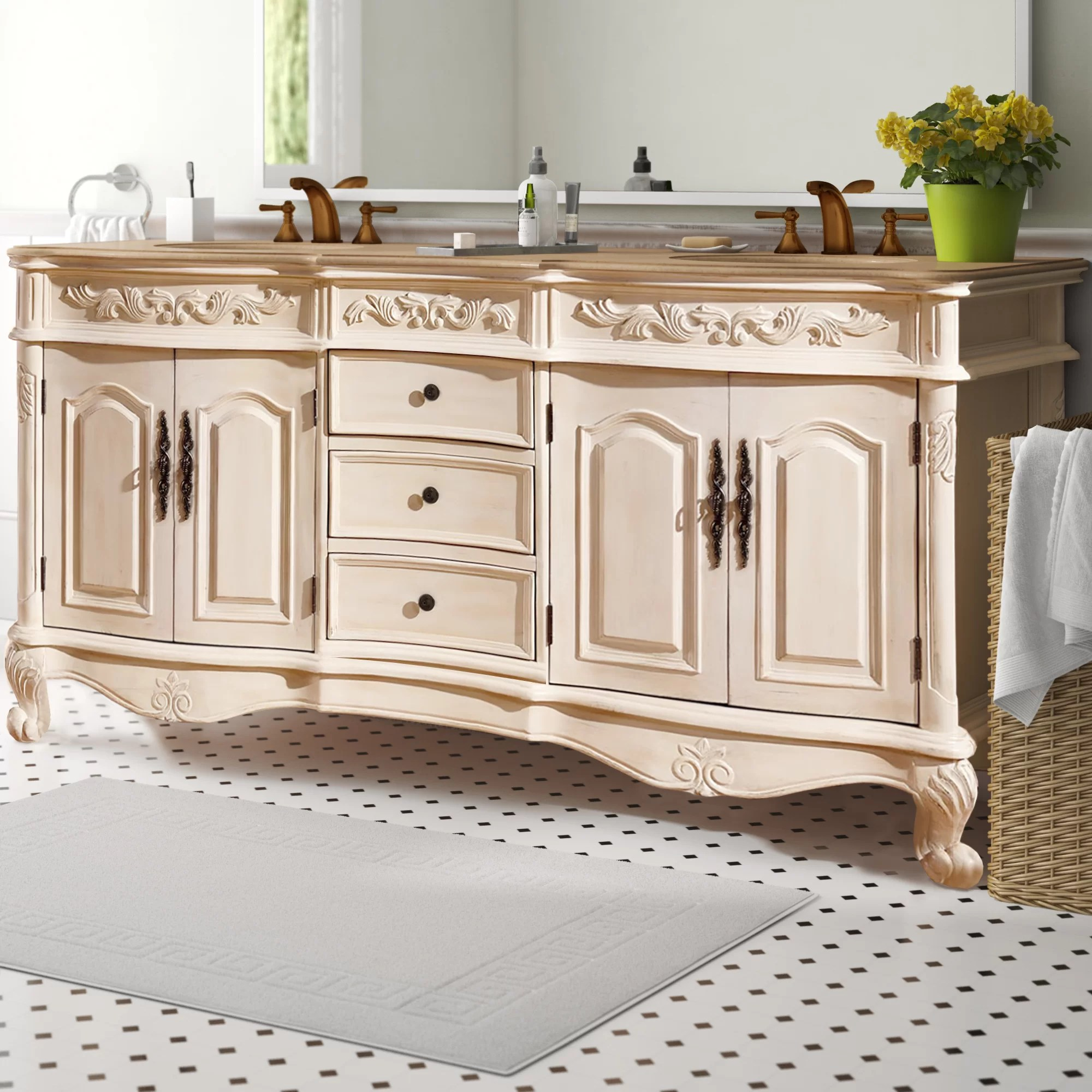 Bathroom Vanity 72 Double Sink Svetlana 72