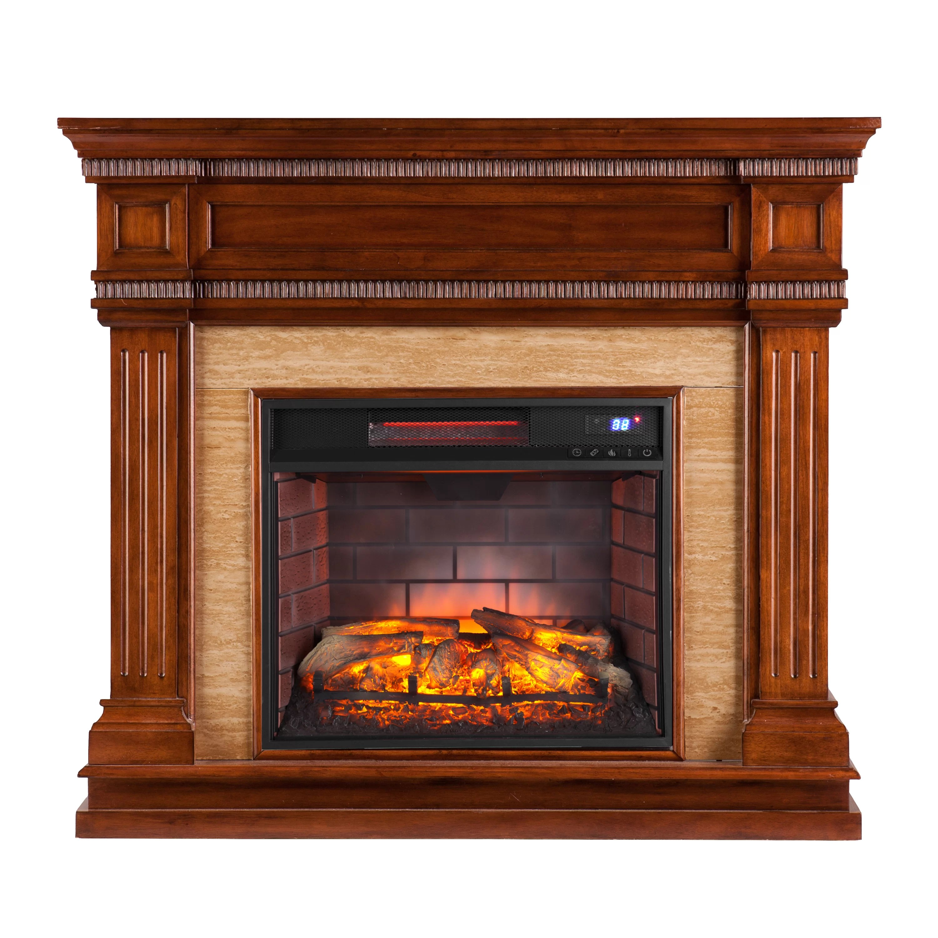 Space Heaters Fireplace Contreras Electric Fireplace