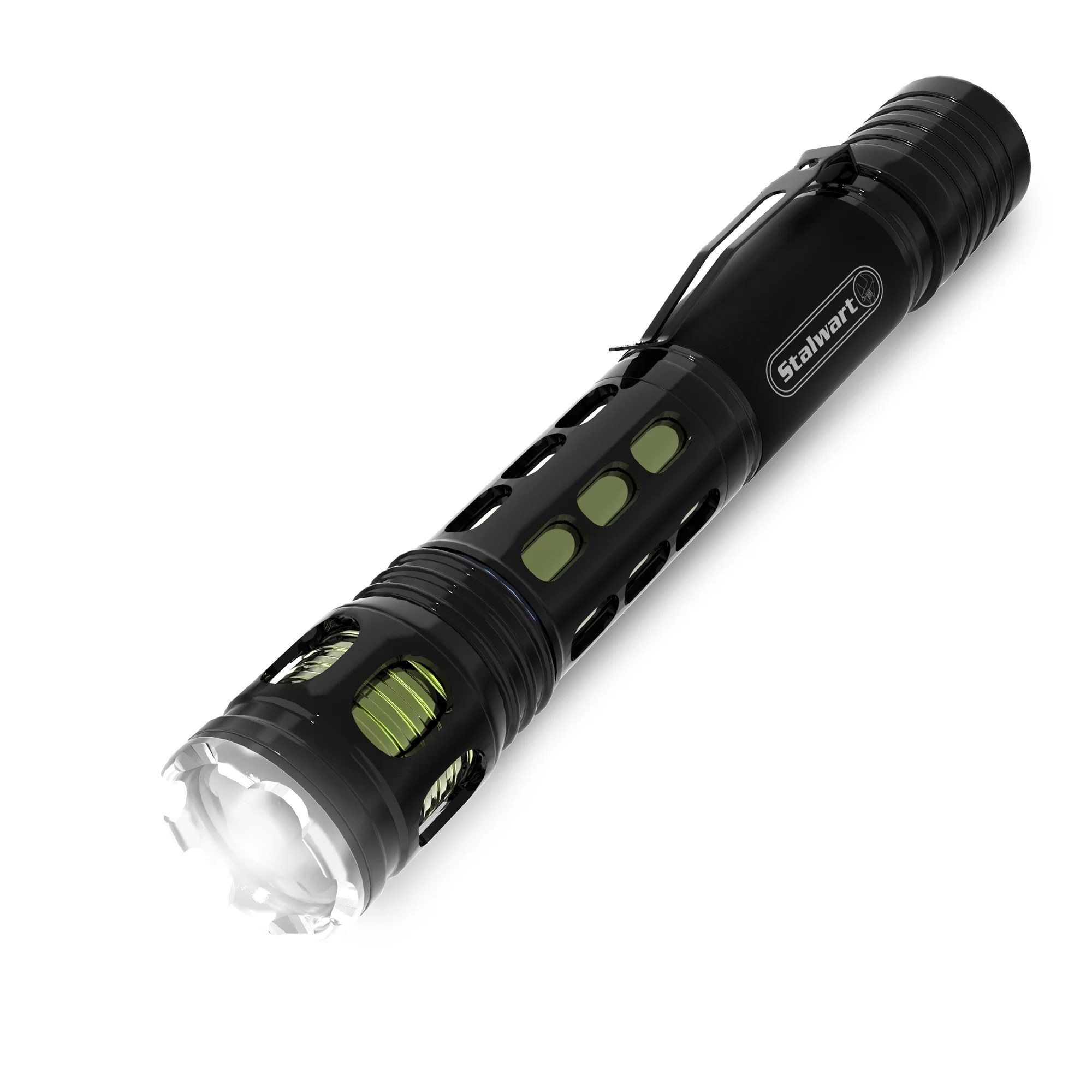 200 Lumen 200 Lumen Water Resistant Zoomable Led Flashlight
