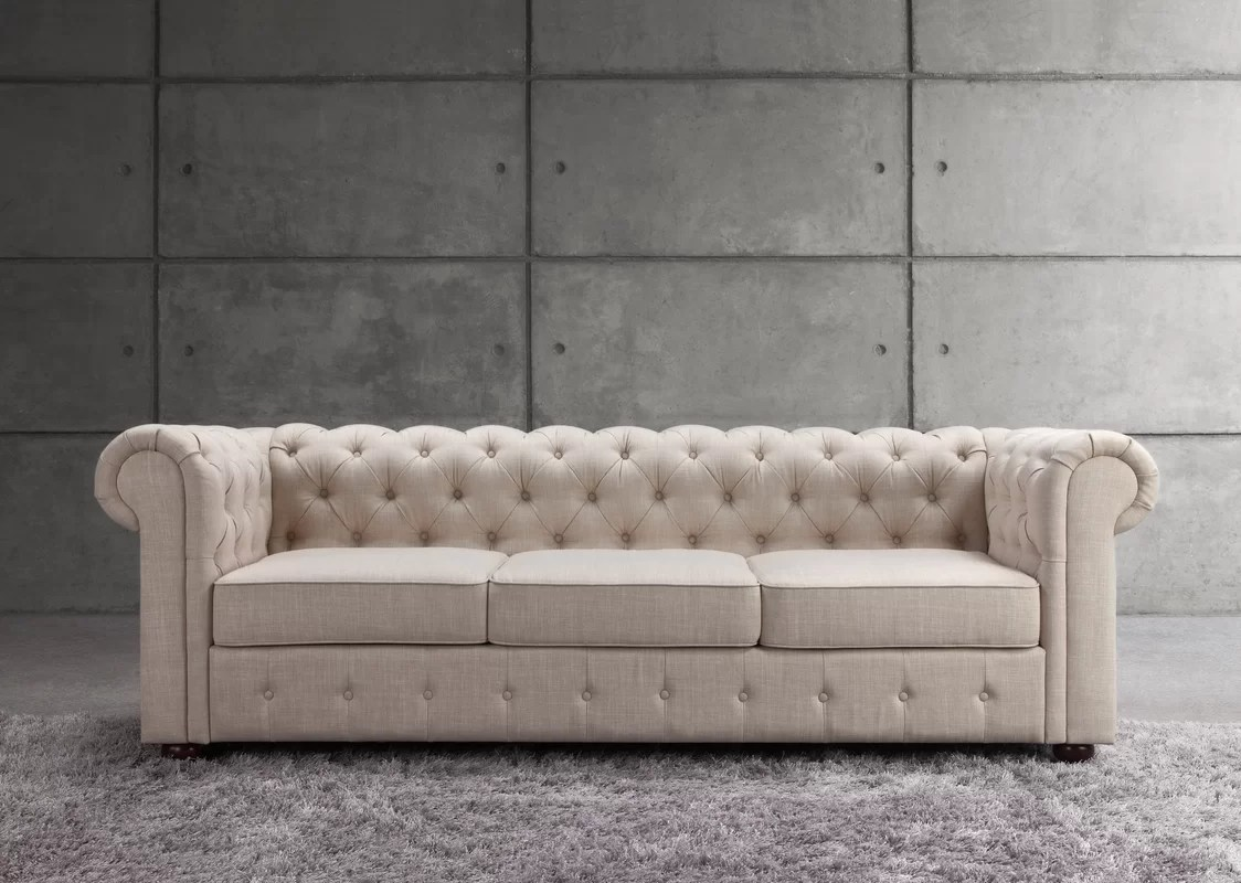 Chesterfield Sofa Mulhouse Furniture Garcia Chesterfield Sofa And Reviews