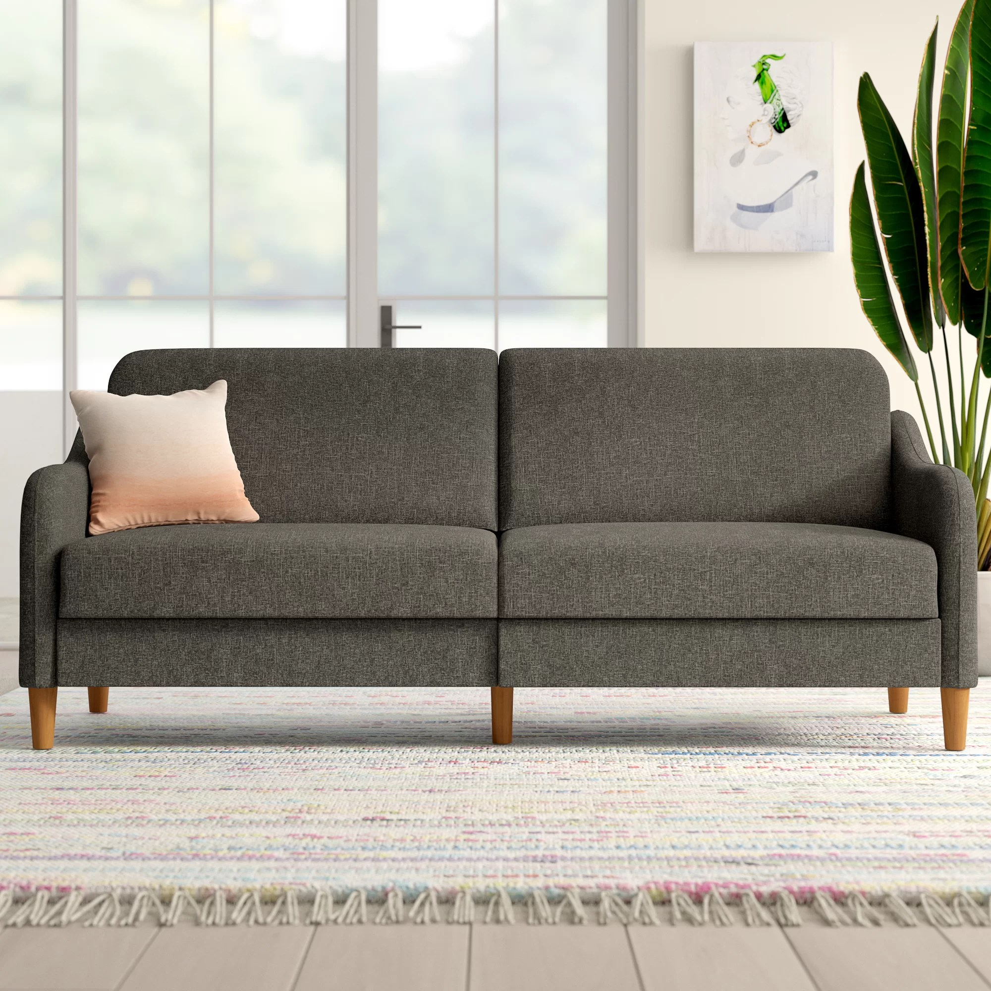 Big Couch Garnitur Modern Contemporary Memory Foam Sofa Allmodern