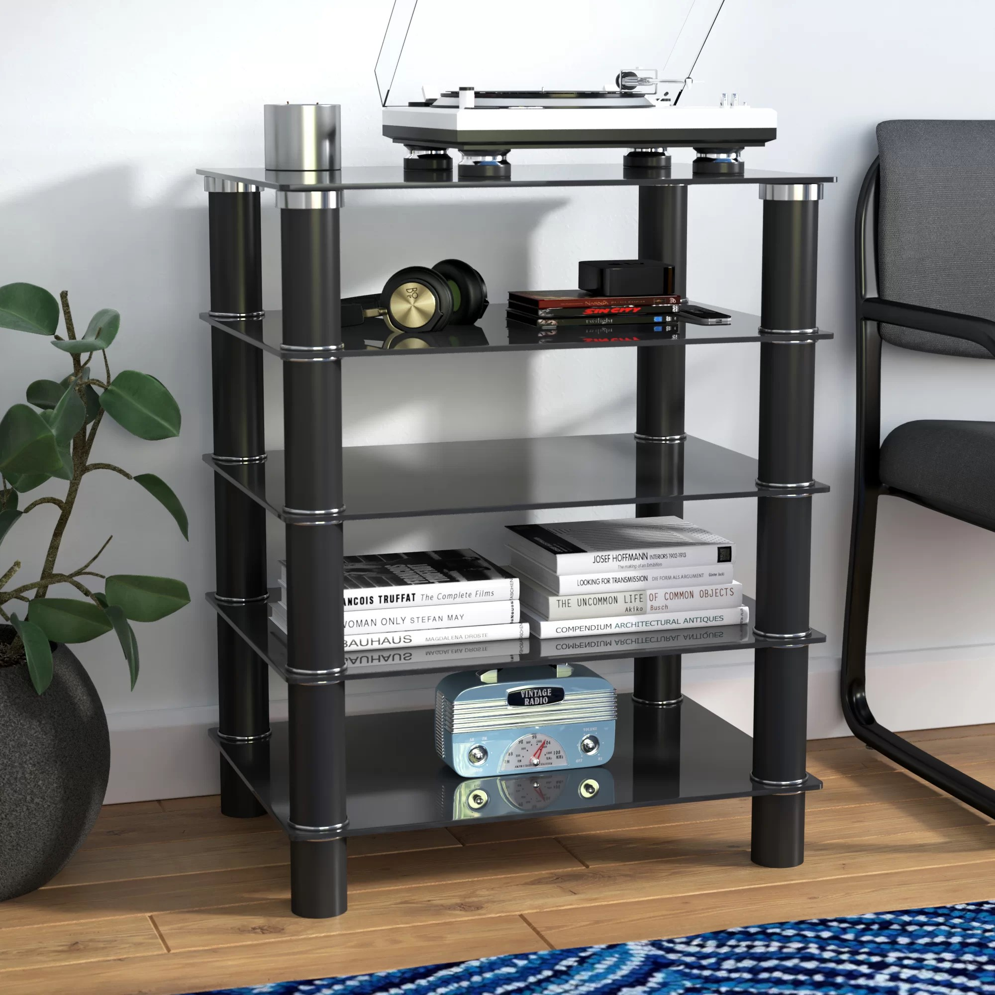 Hifi Rack Design Glass Audio Rack