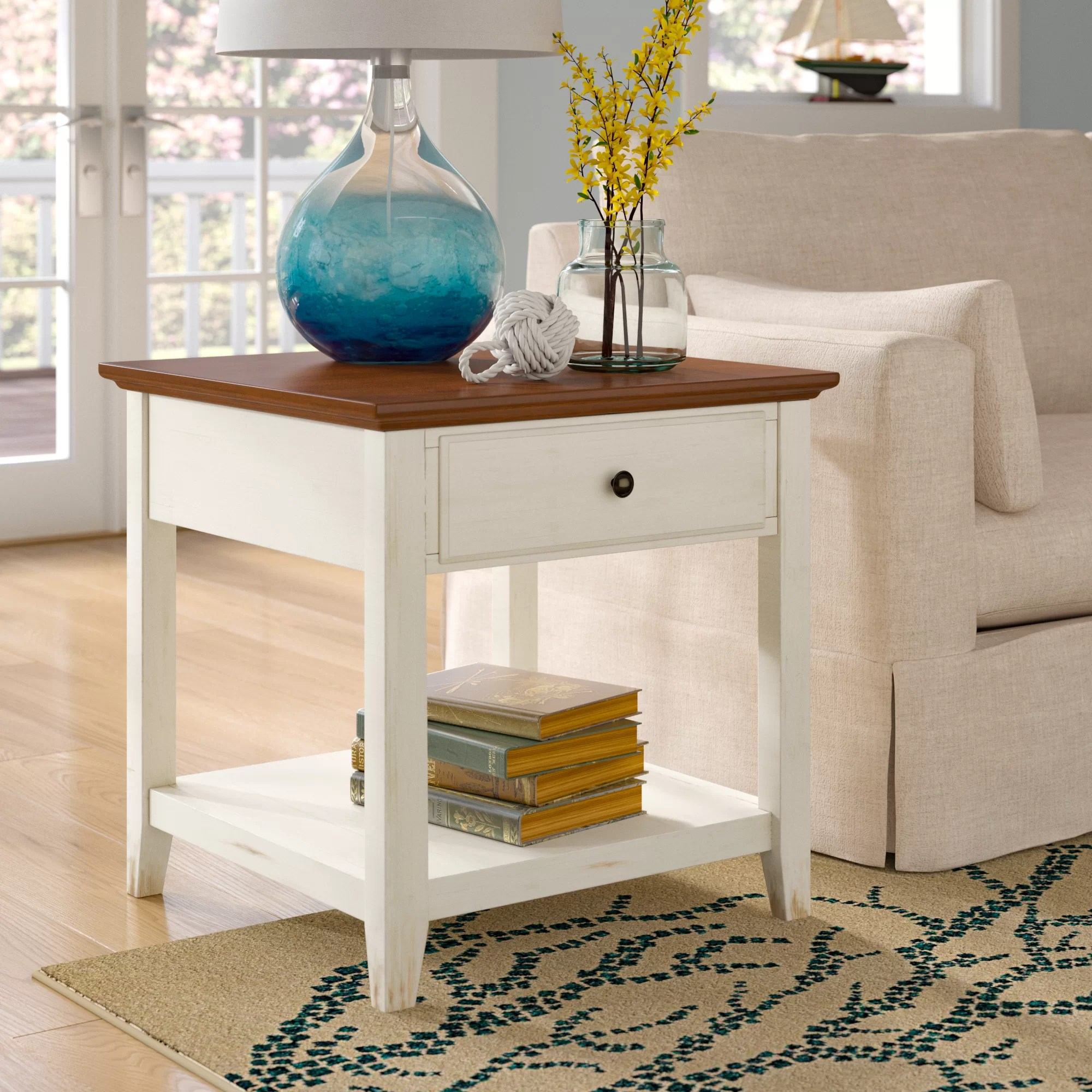 Coffee And End Tables With Storage Willow End Table With Storage