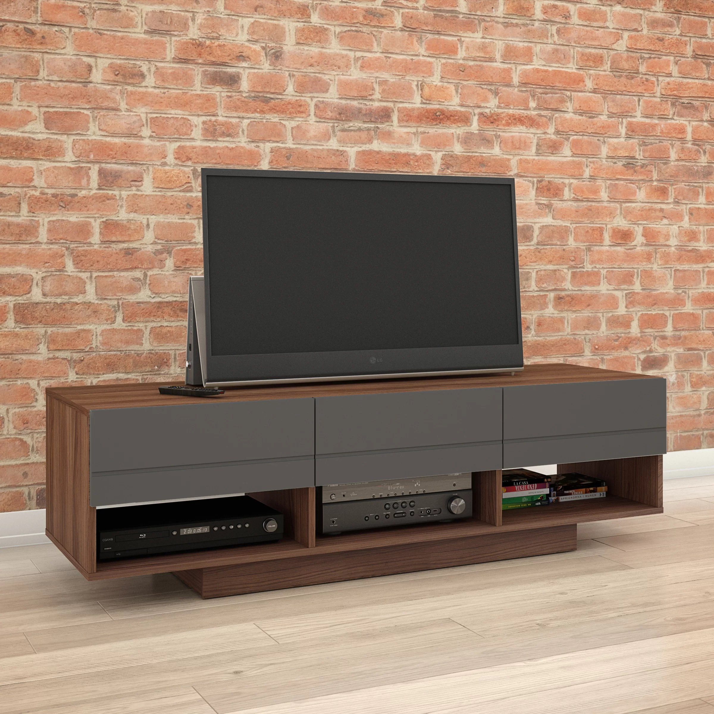Meubles Brick Brossard Guilherme Tv Stand For Tvs Up To 60