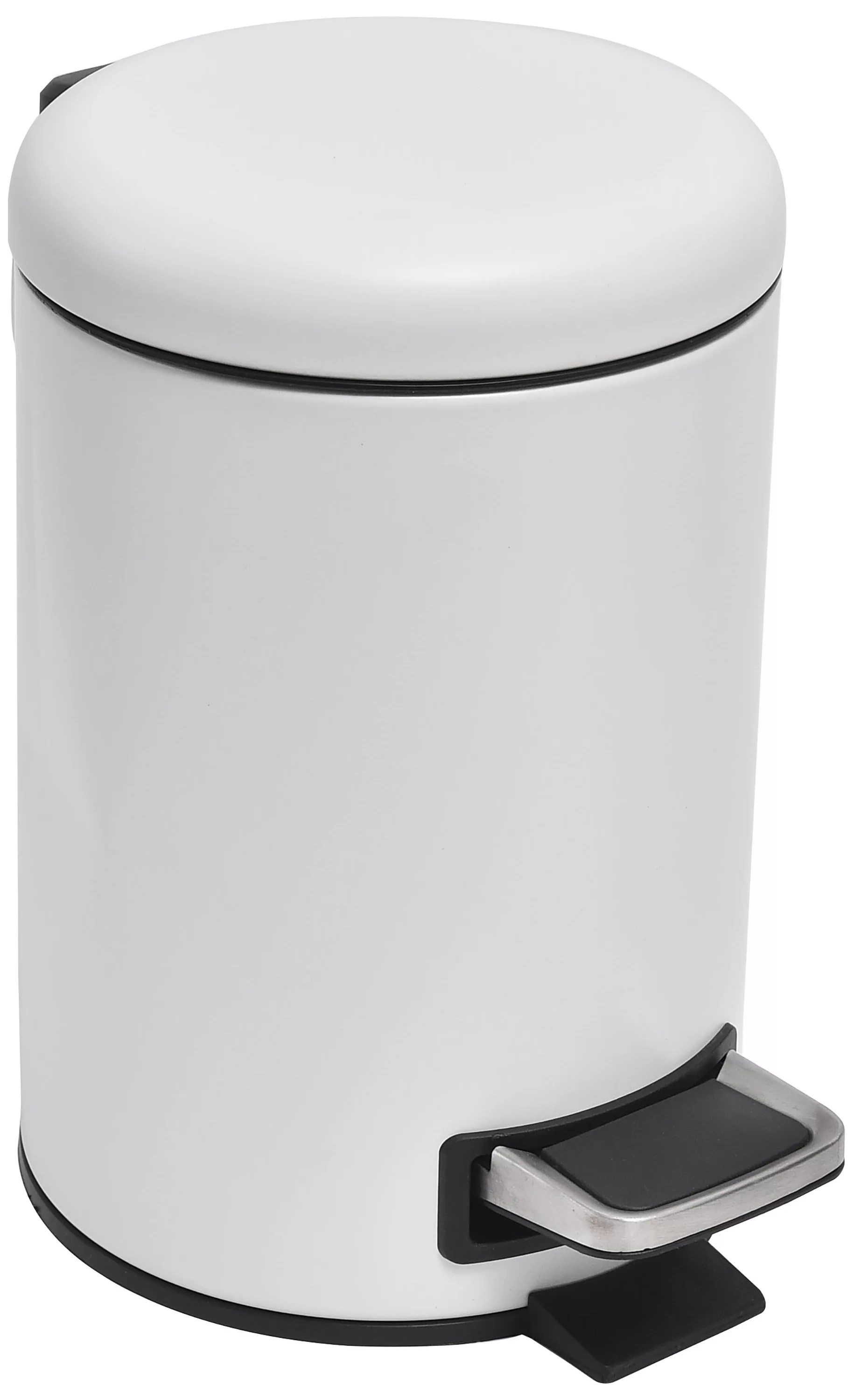 Small Kitchen Trash Cans Soft Close Small Round Bathroom Floor 8 Gallon Step On Trash Can