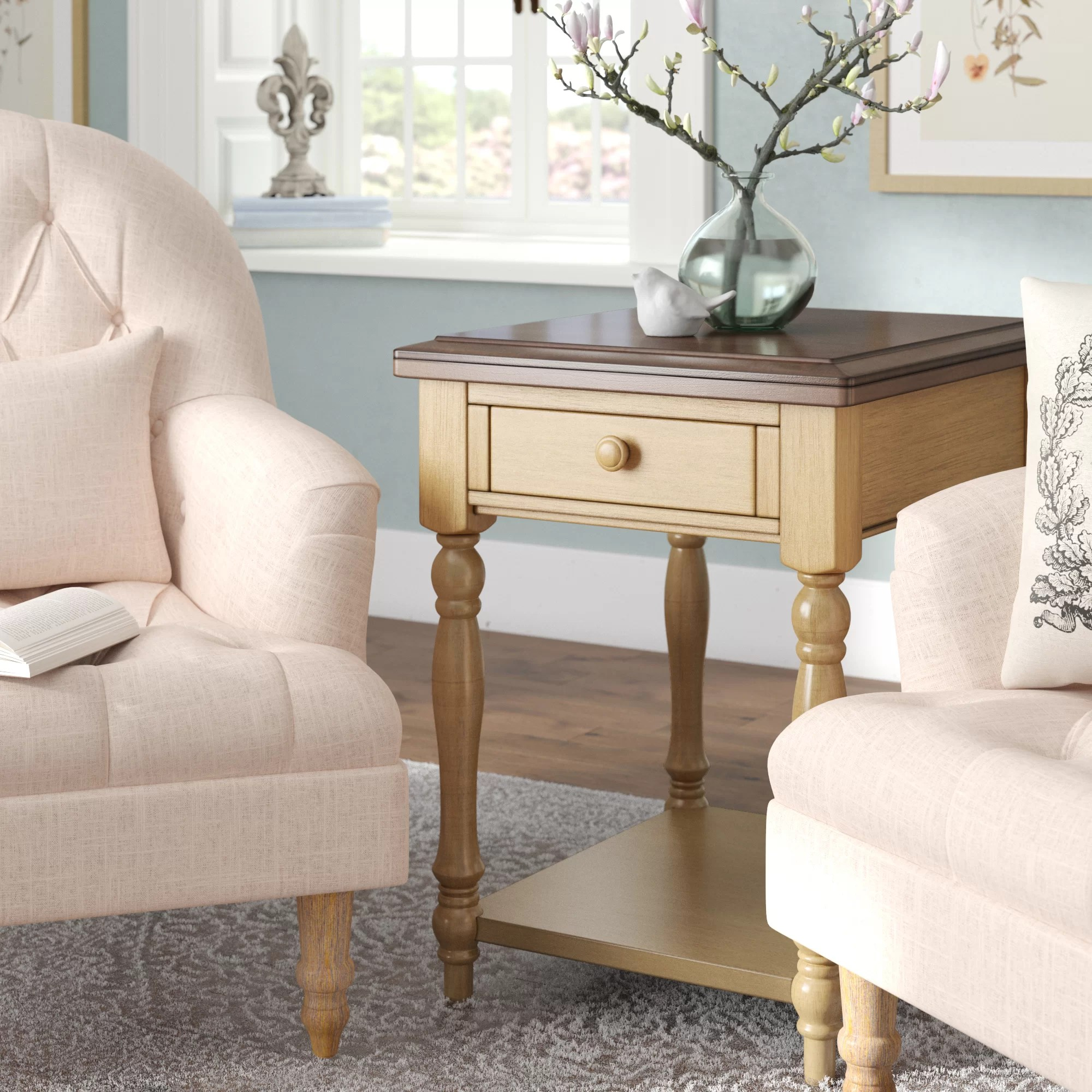 Coffee And End Tables With Storage Courtdale End Table With Storage