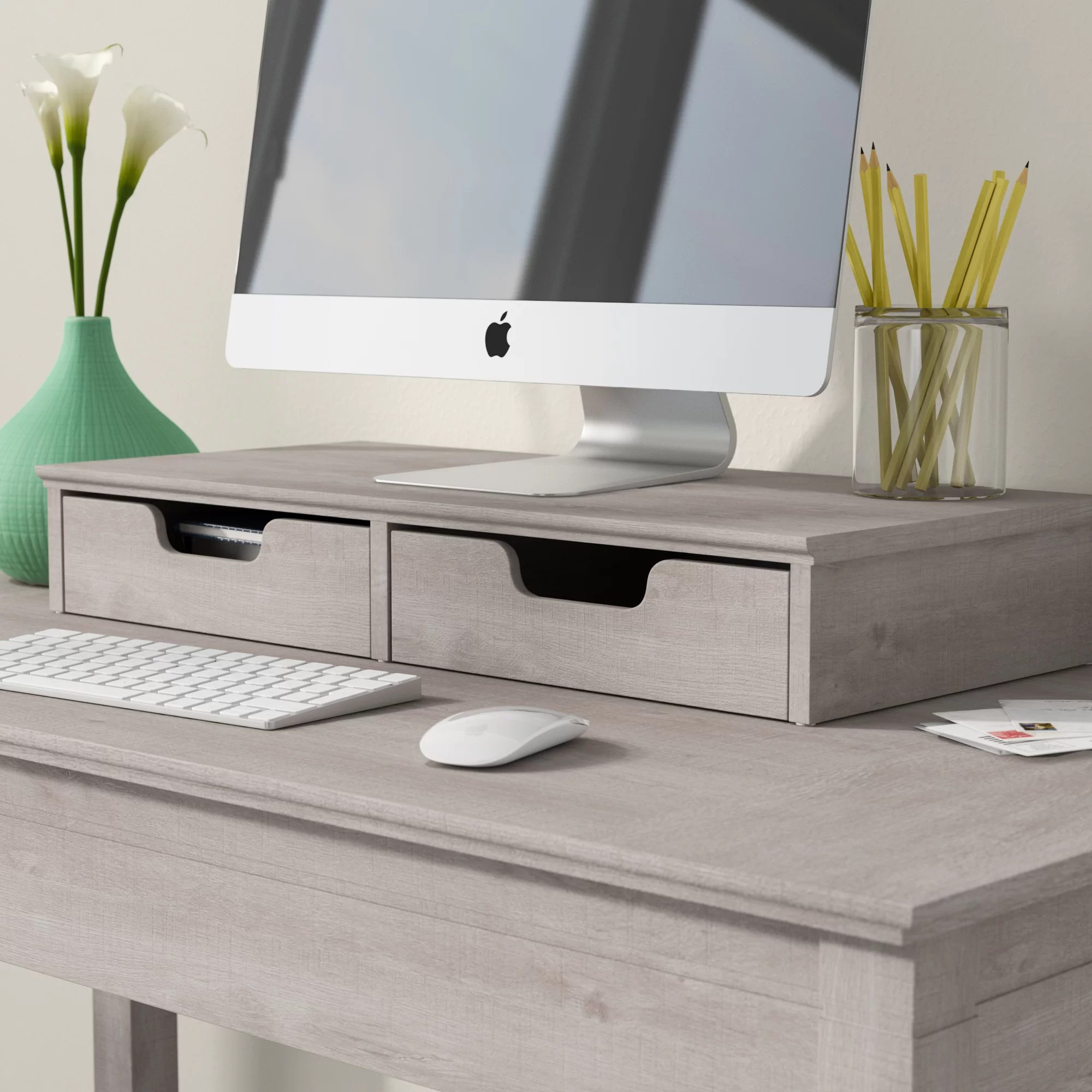 Desk Top Drawers Oridatown Desktop Organizer With Drawers