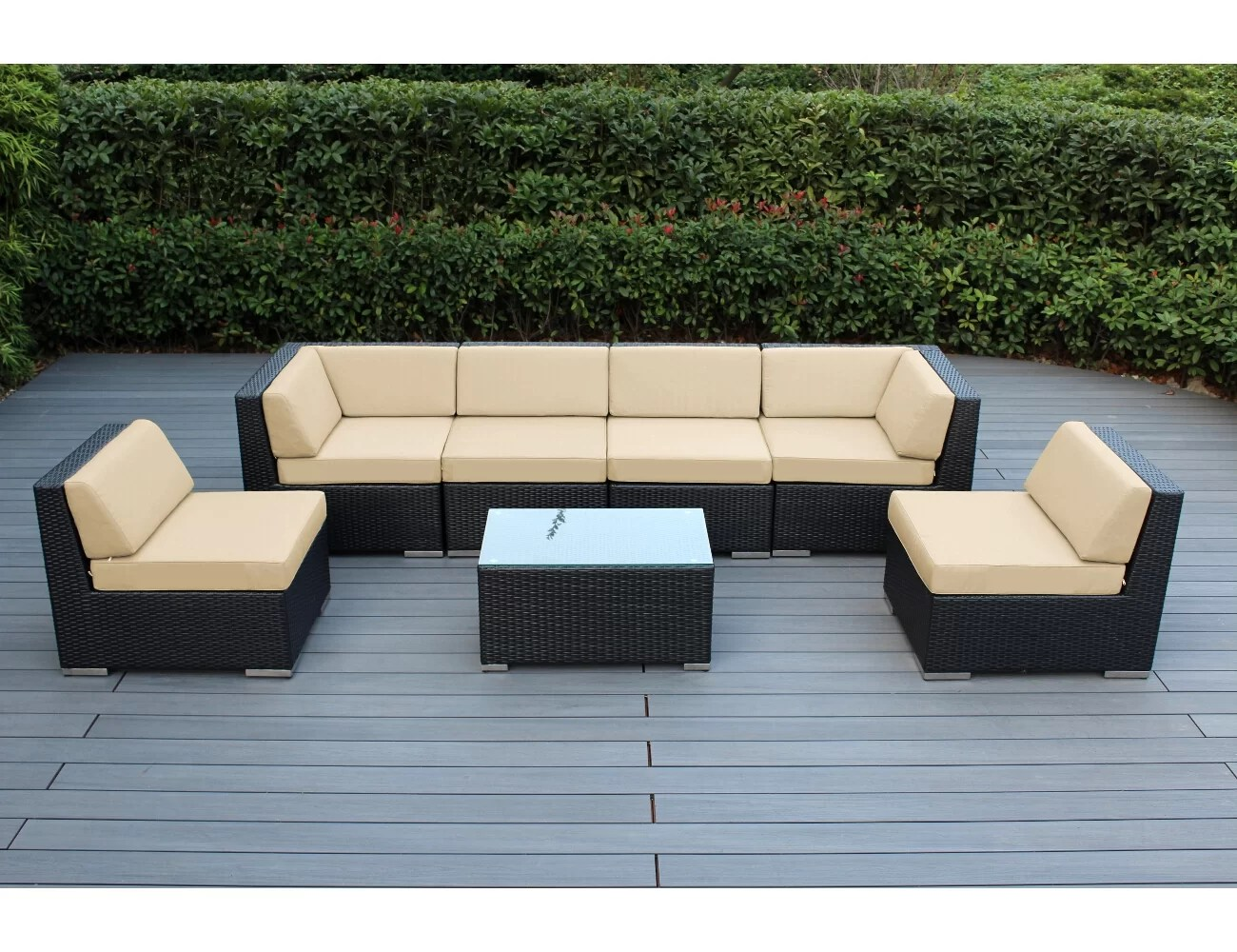 Urban Sofa Barneveld Barneveld 7 Piece Sectional Seating Group With Cushions