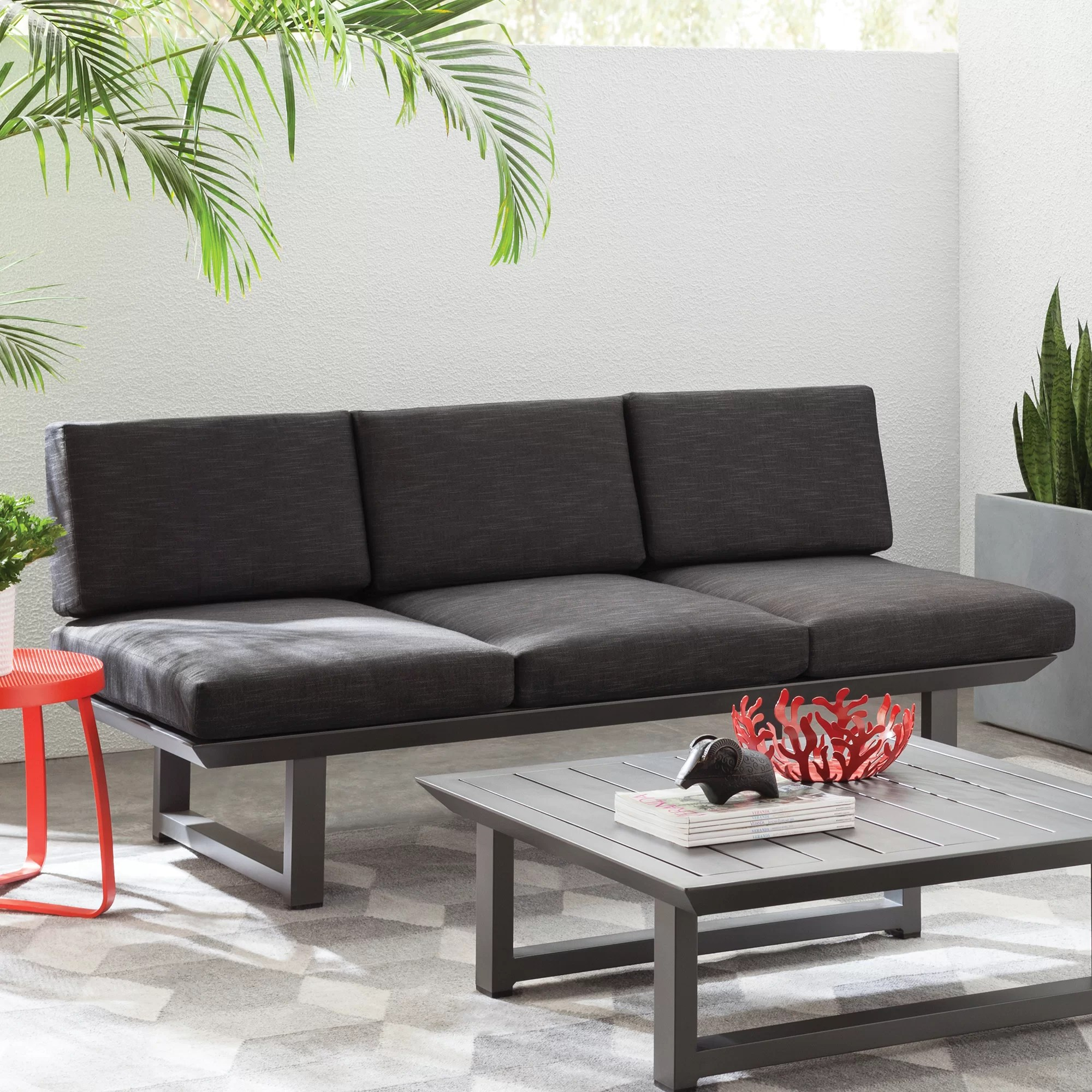 Sofa Entertainment Group Llc Modern Outdoor Lounge Furniture Allmodern