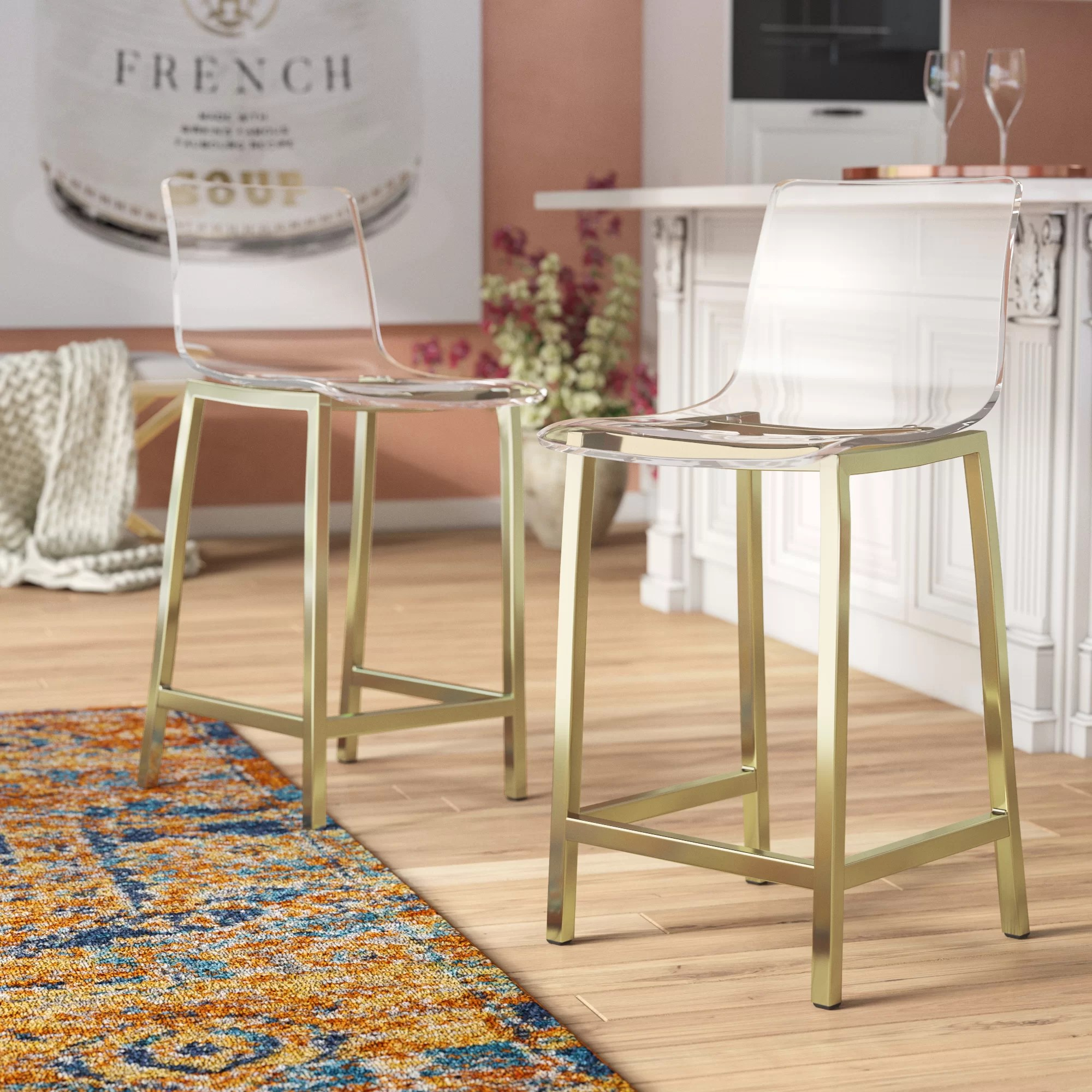 Table And Bar Stools Tim 24