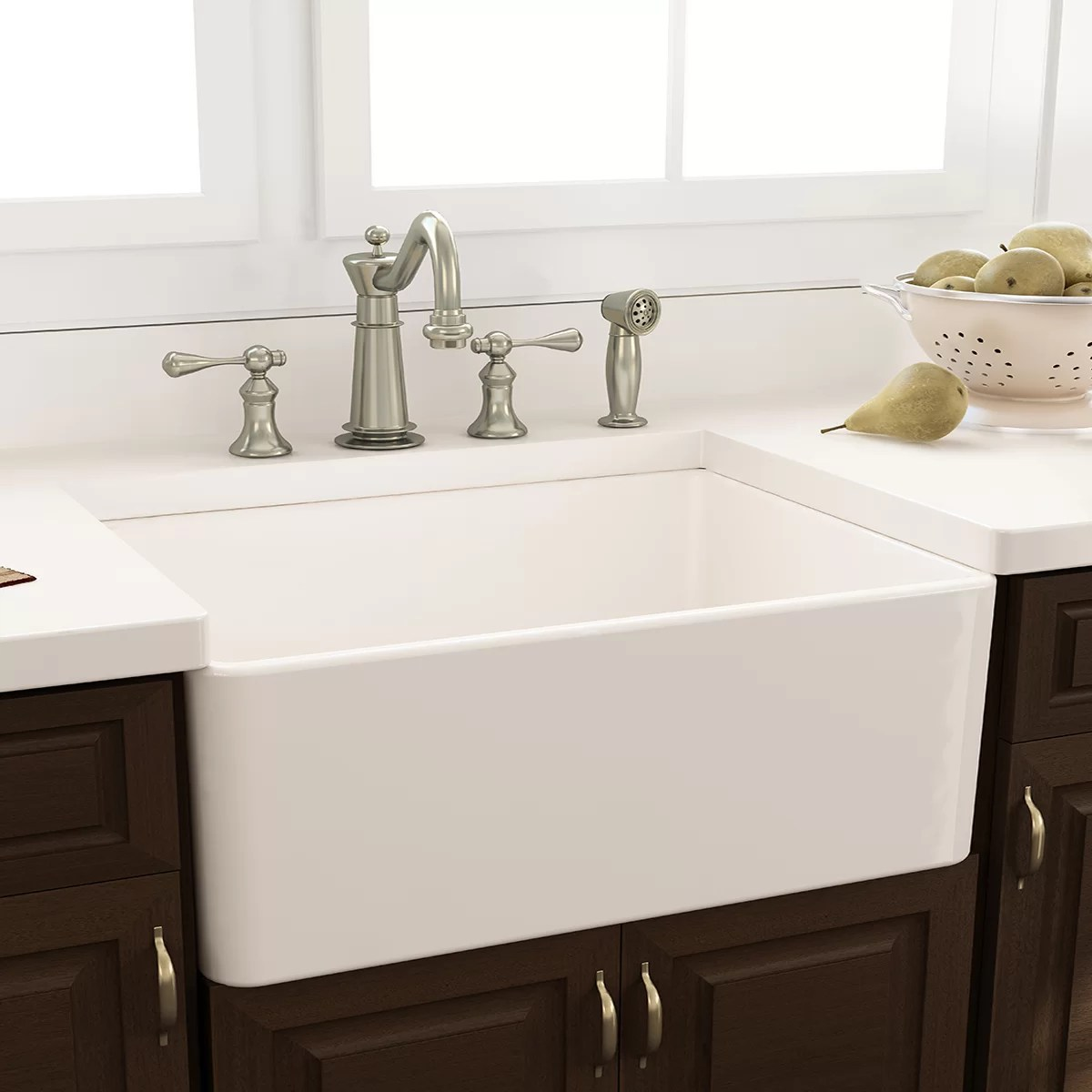 Nantucket Sinks Cape 3025quot X 18quot Kitchen Sink With Grid
