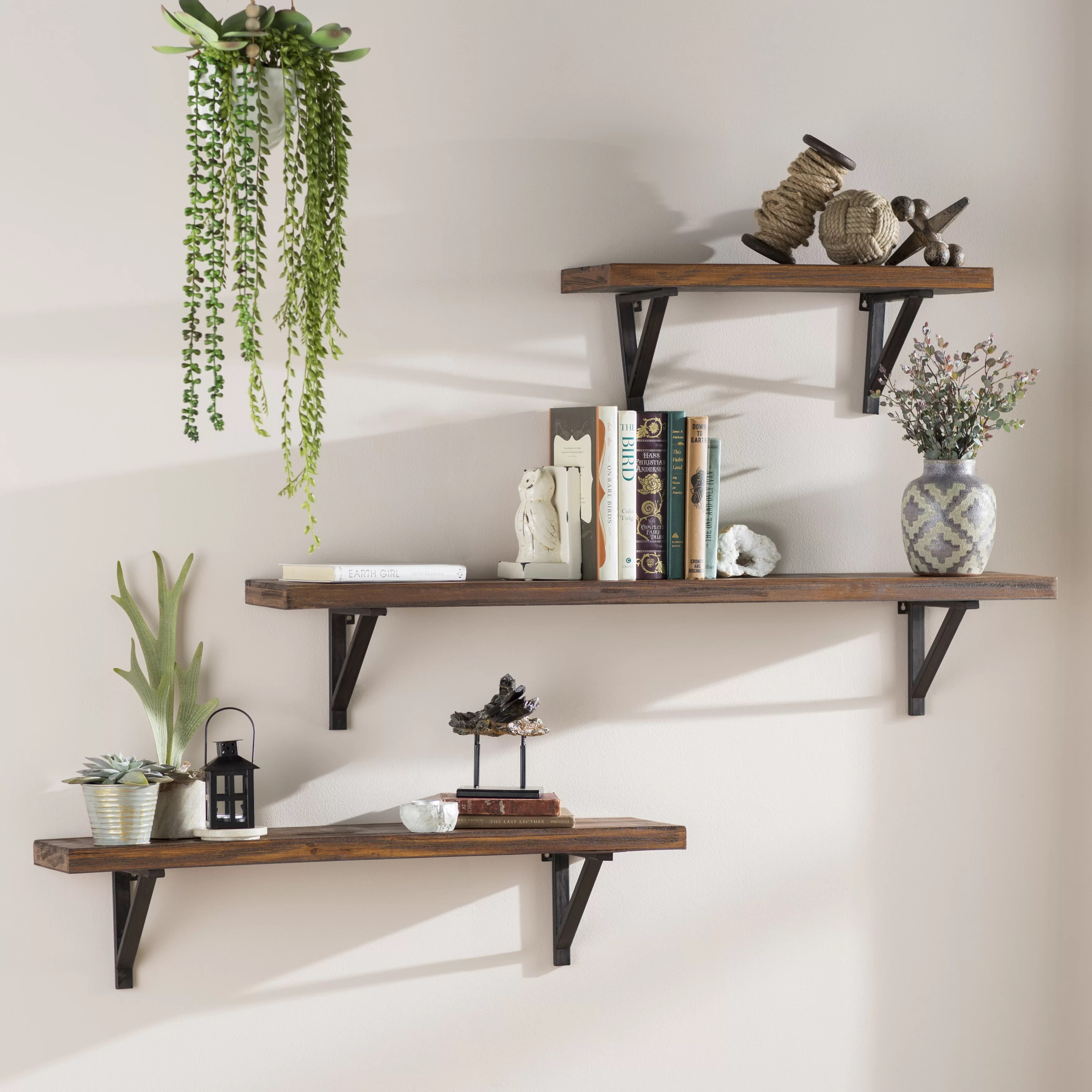 Wall Shelf Design Commodore 3 Piece Wall Shelf Set