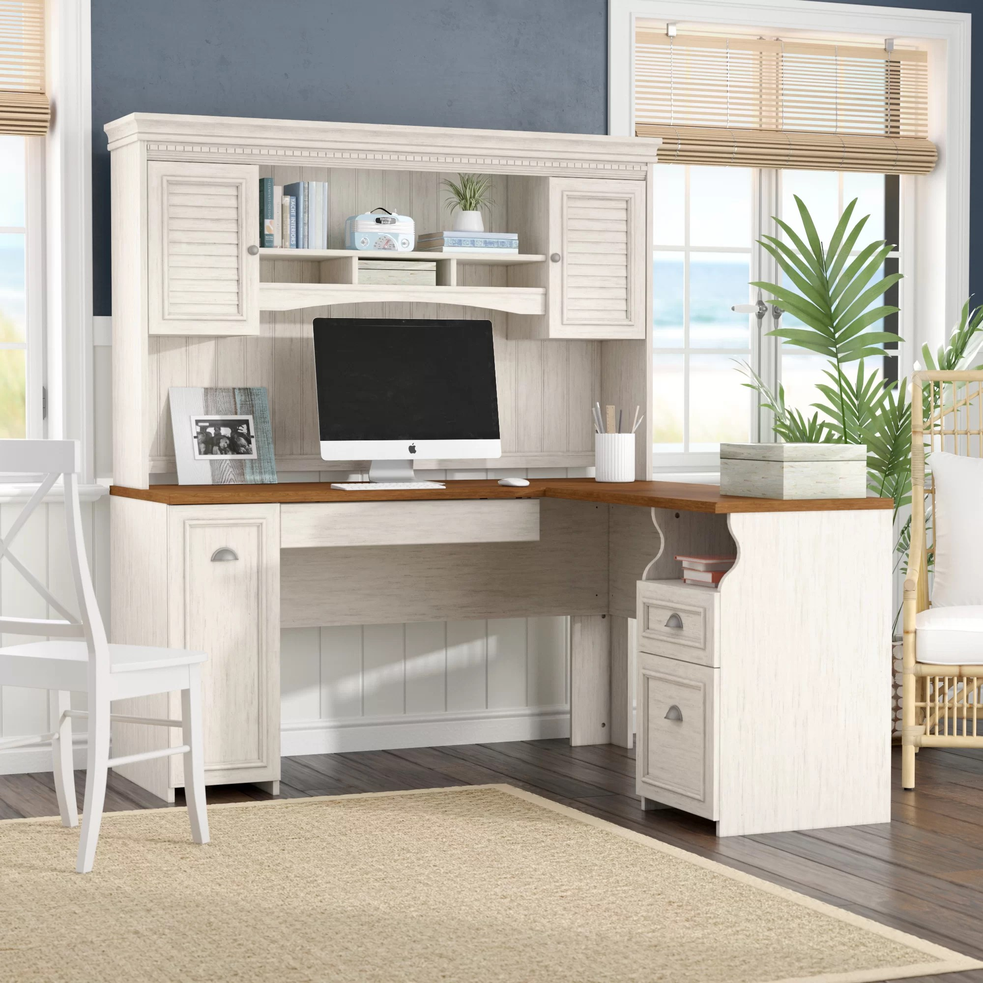 Executive L Shaped Desk Oakridge L Shaped Executive Desk With Hutch